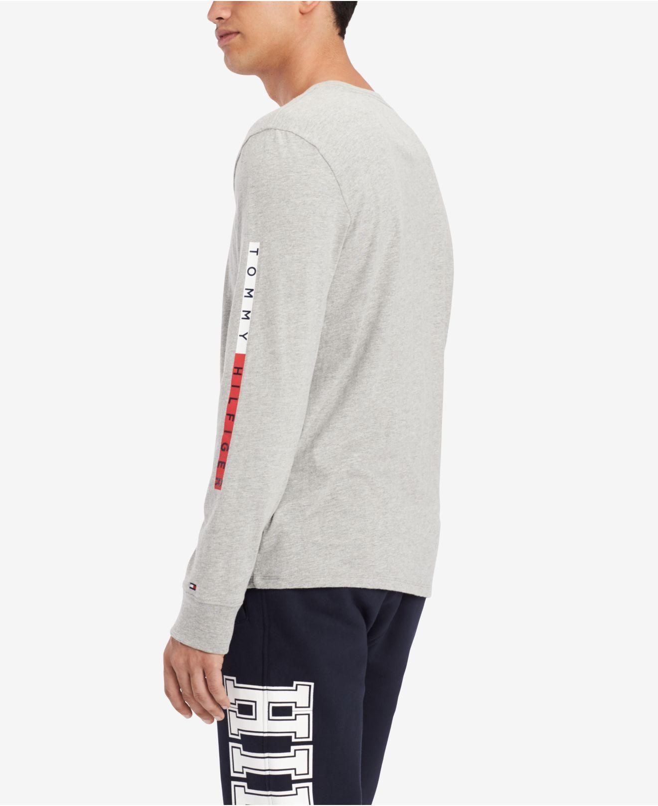 1b03d082 Lyst - Tommy Hilfiger Lionel Graphic Shirt, Created For Macy's in Gray for  Men