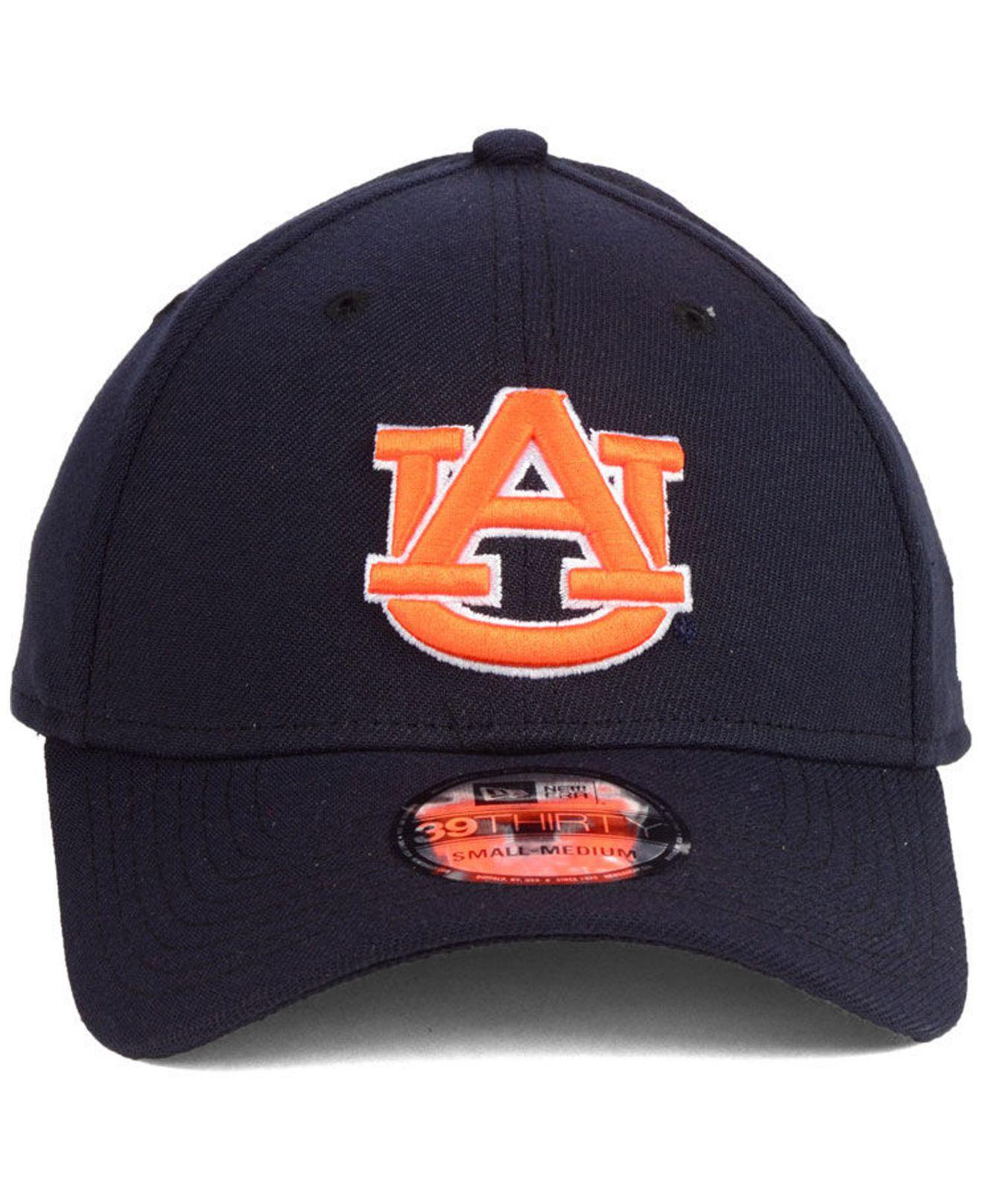 05e10f03416 Lyst - Ktz Auburn Tigers College Classic 39thirty Cap in Blue for Men