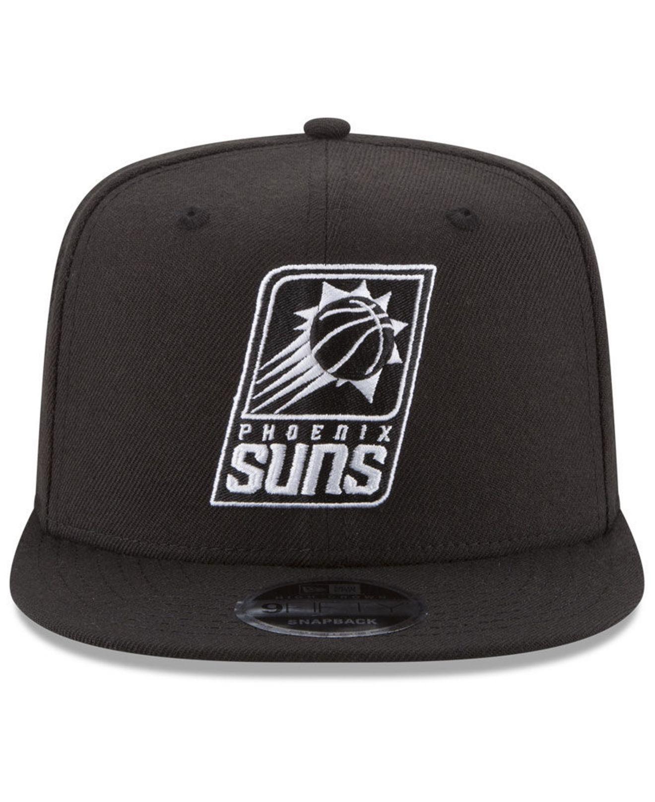size 40 48609 d2d00 ... australia lyst ktz phoenix suns anniversary patch 9fifty snapback cap  in black for men 09b89 2905d