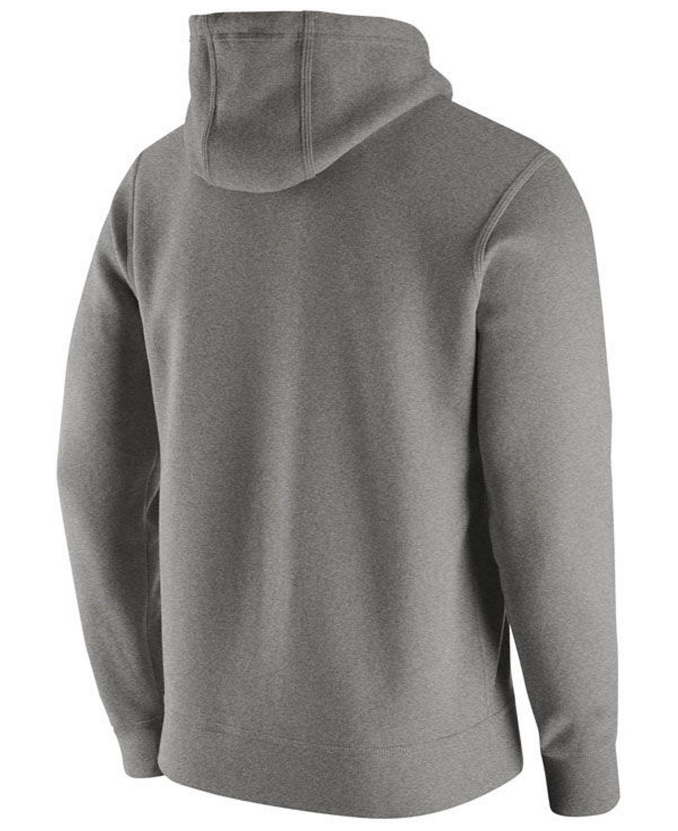44ba28bc946 Lyst - Nike Washington Huskies Cotton Club Fleece Hooded Sweatshirt in Gray  for Men