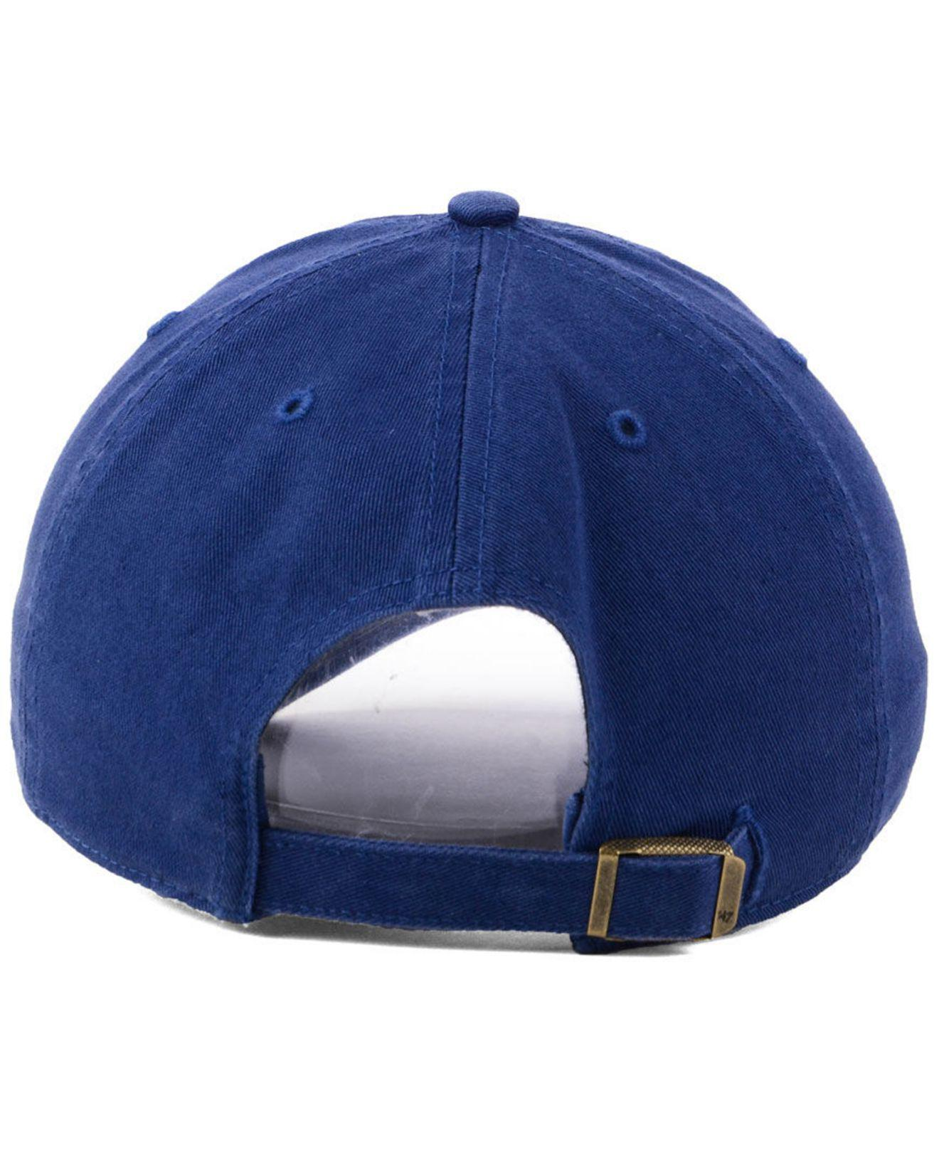 new arrival b8e40 4a9c5 ... greece 47 brand st. louis cardinals timber blue clean up cap for men  lyst.