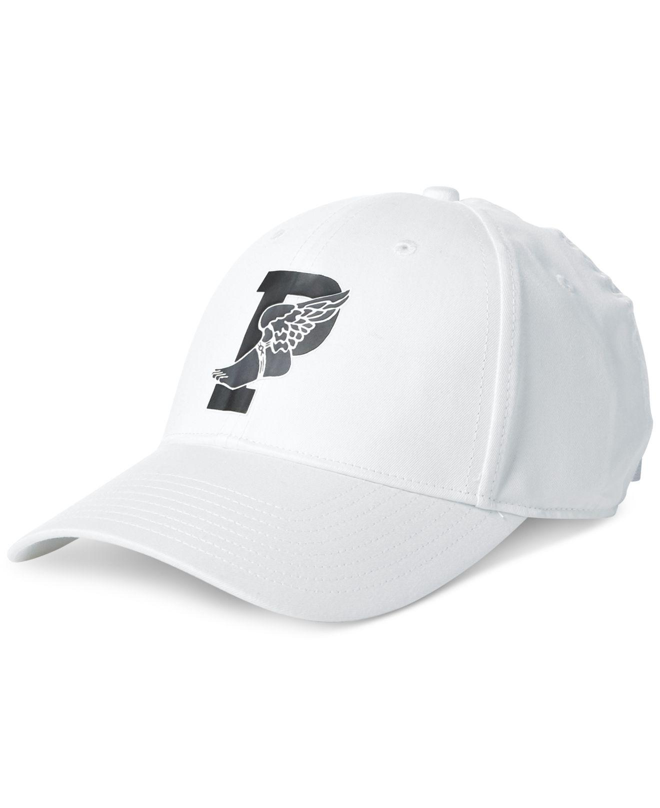 f07edc59977 Lyst - Polo Ralph Lauren Baseline Cap (black) Caps in White for Men