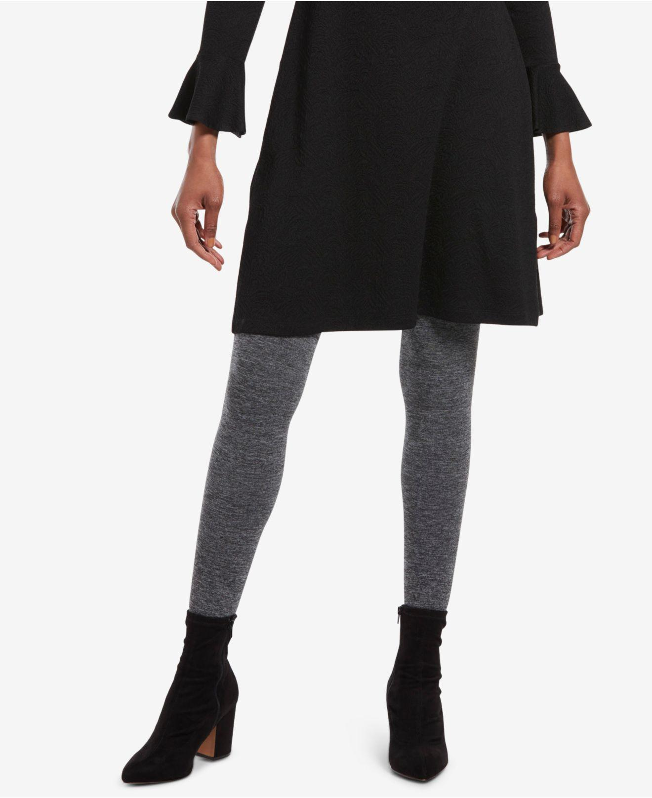 9cc434c20 Lyst - Hue ® Brushed Sweater Tights in Gray