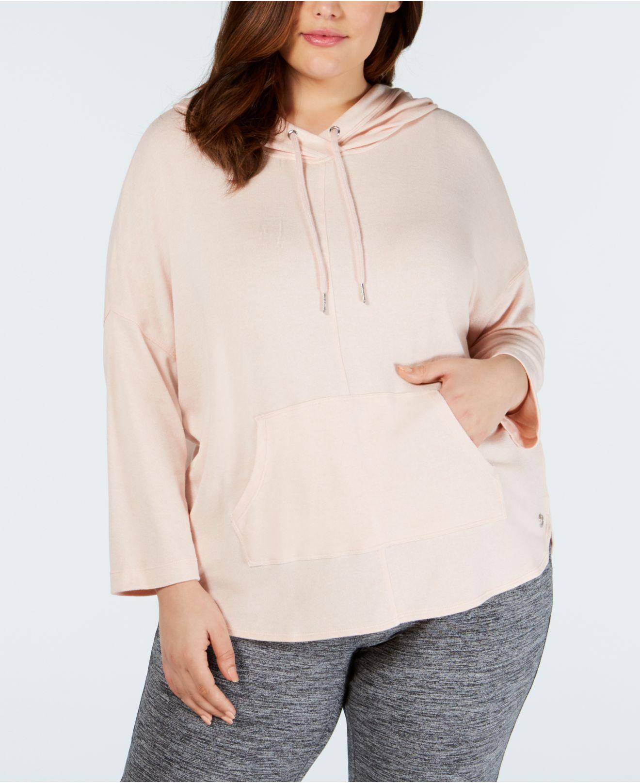 30415ec0324 Calvin Klein. Women s Performance Plus Size 3 4-sleeve Hoodie