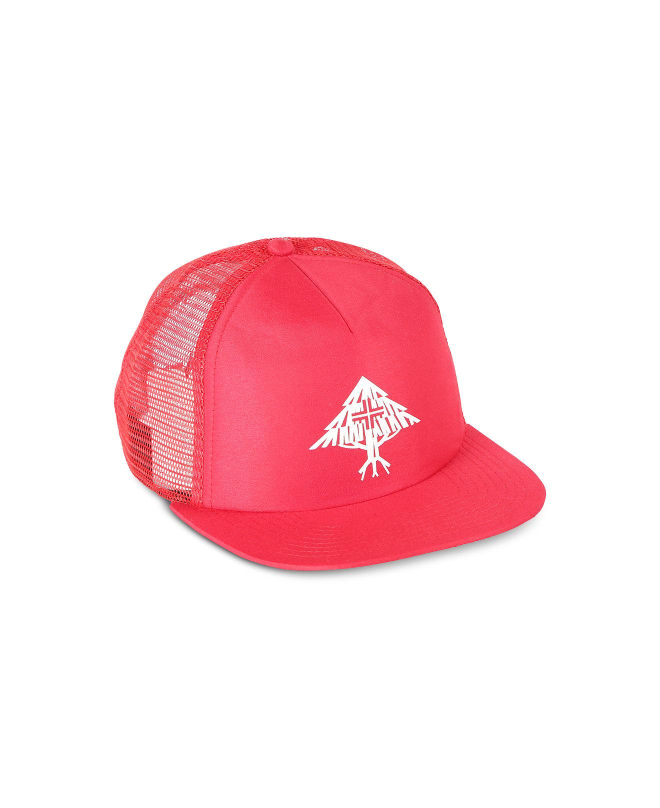 4aa0af484fb Lyst - LRG Nature Roots Snapback Trucker Hat in Red for Men