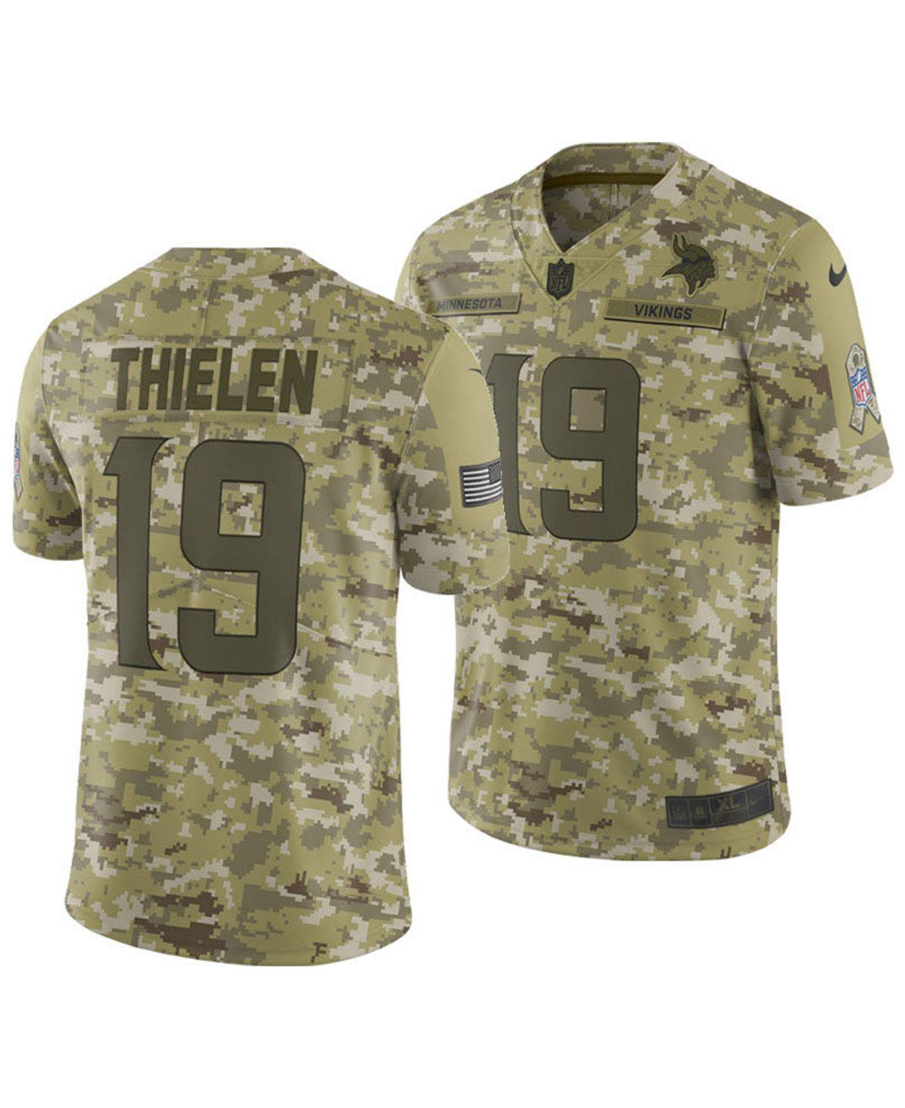 Lyst - Nike Adam Thielen Minnesota Vikings Salute To Service Jersey ... 0c297e31b