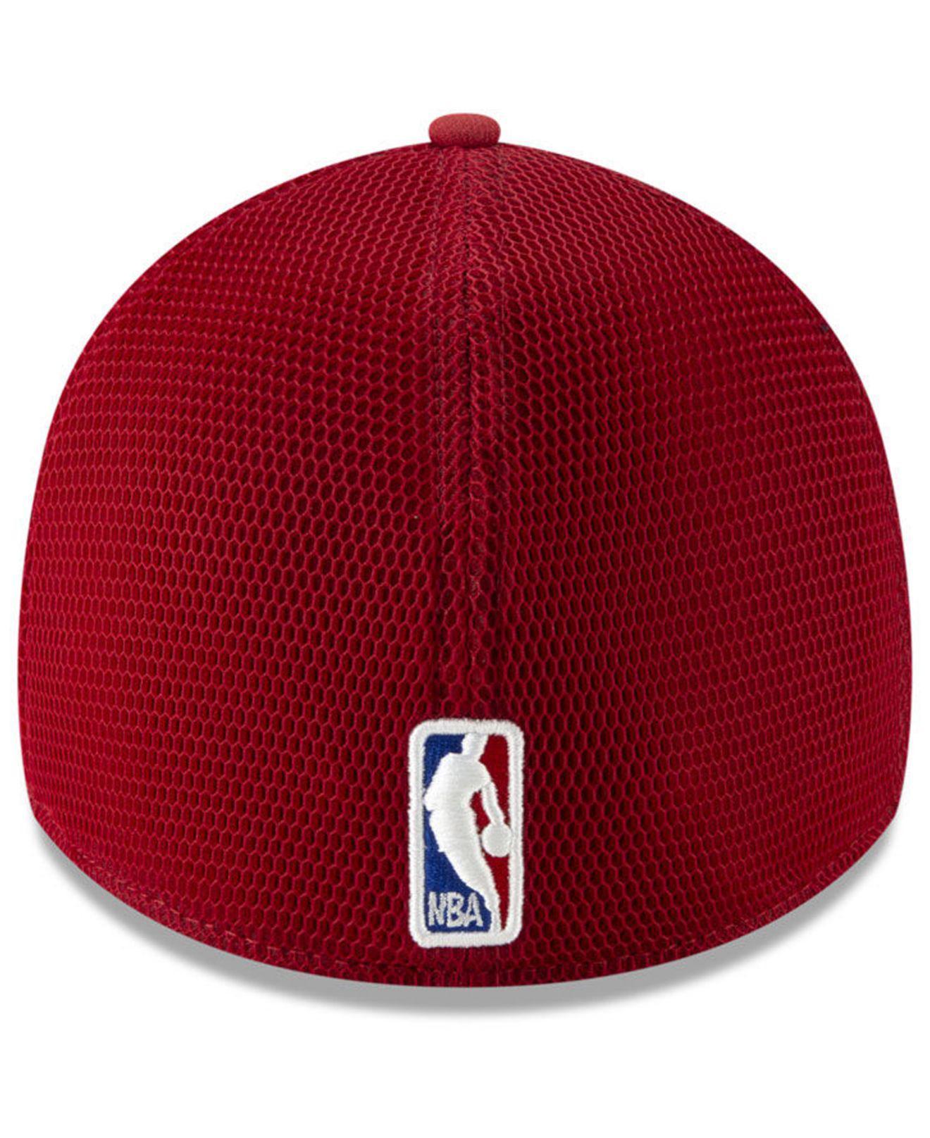 buy online b24f5 82f45 KTZ - Red Utah Jazz City Series 39thirty Cap for Men - Lyst. View fullscreen