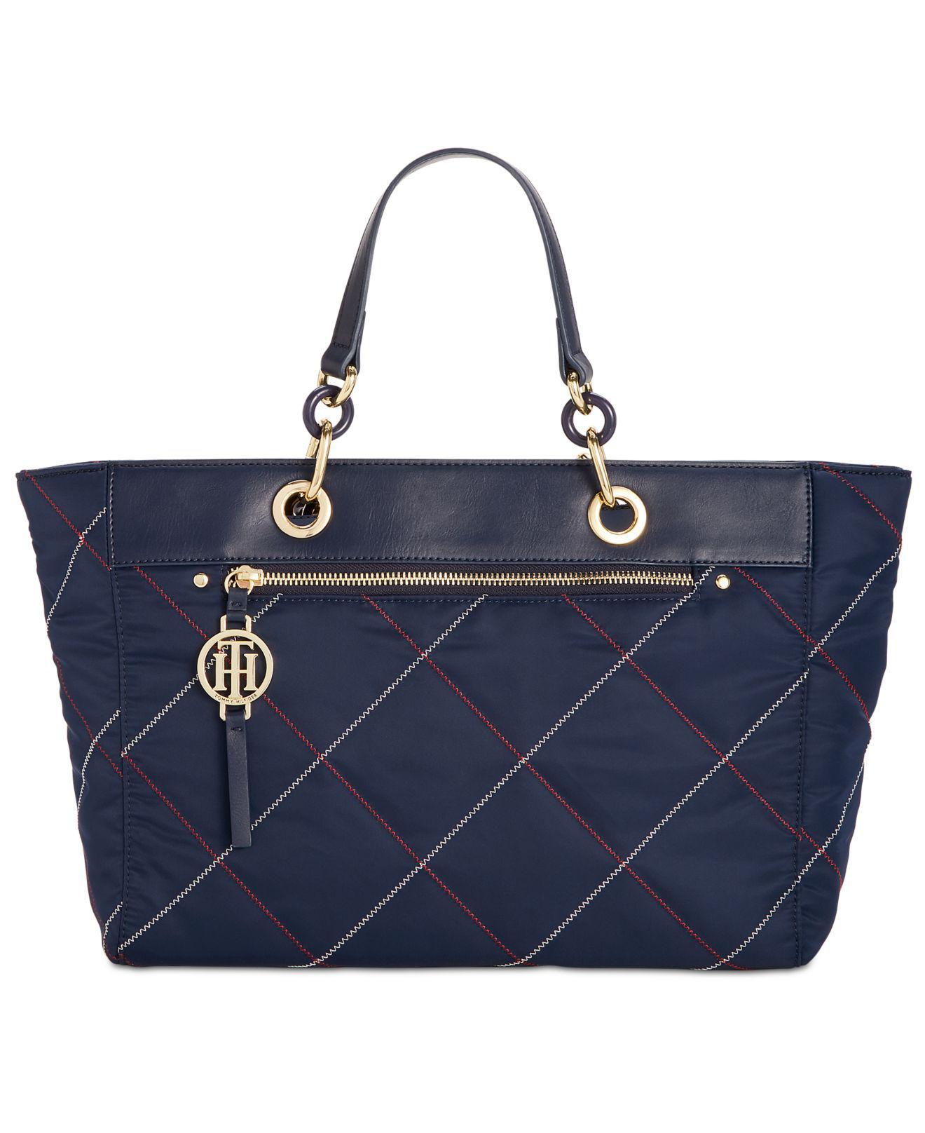 a6f05d4745a Lyst - Tommy Hilfiger Rosie Shopper in Blue
