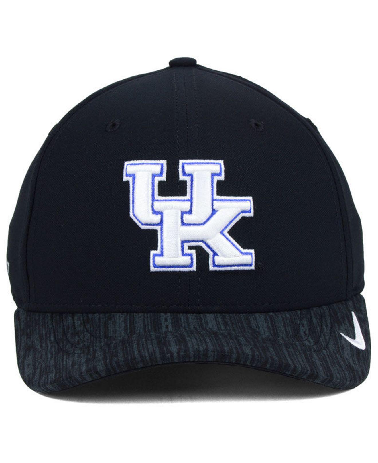 27c9be29ac9 Lyst - Nike Kentucky Wildcats Arobill Swoosh Flex Cap in Black for Men