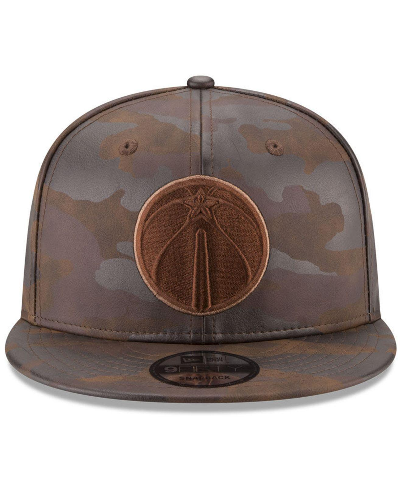 c90836db8ba ... wholesale lyst ktz butter so camo 9fifty snapback cap in brown for men  eff23 af436