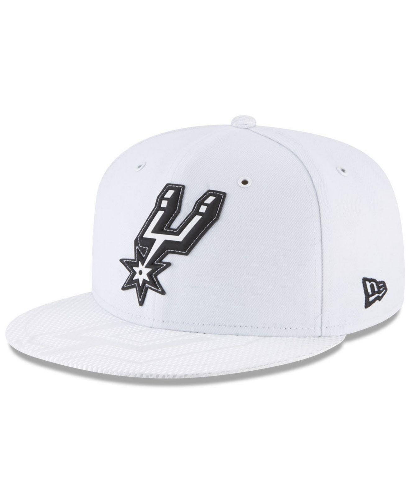 cheap for discount 32f7a fe54b ... shop lyst ktz san antonio spurs back 1 2 series 9fifty snapback cap in  1b833 c44e6