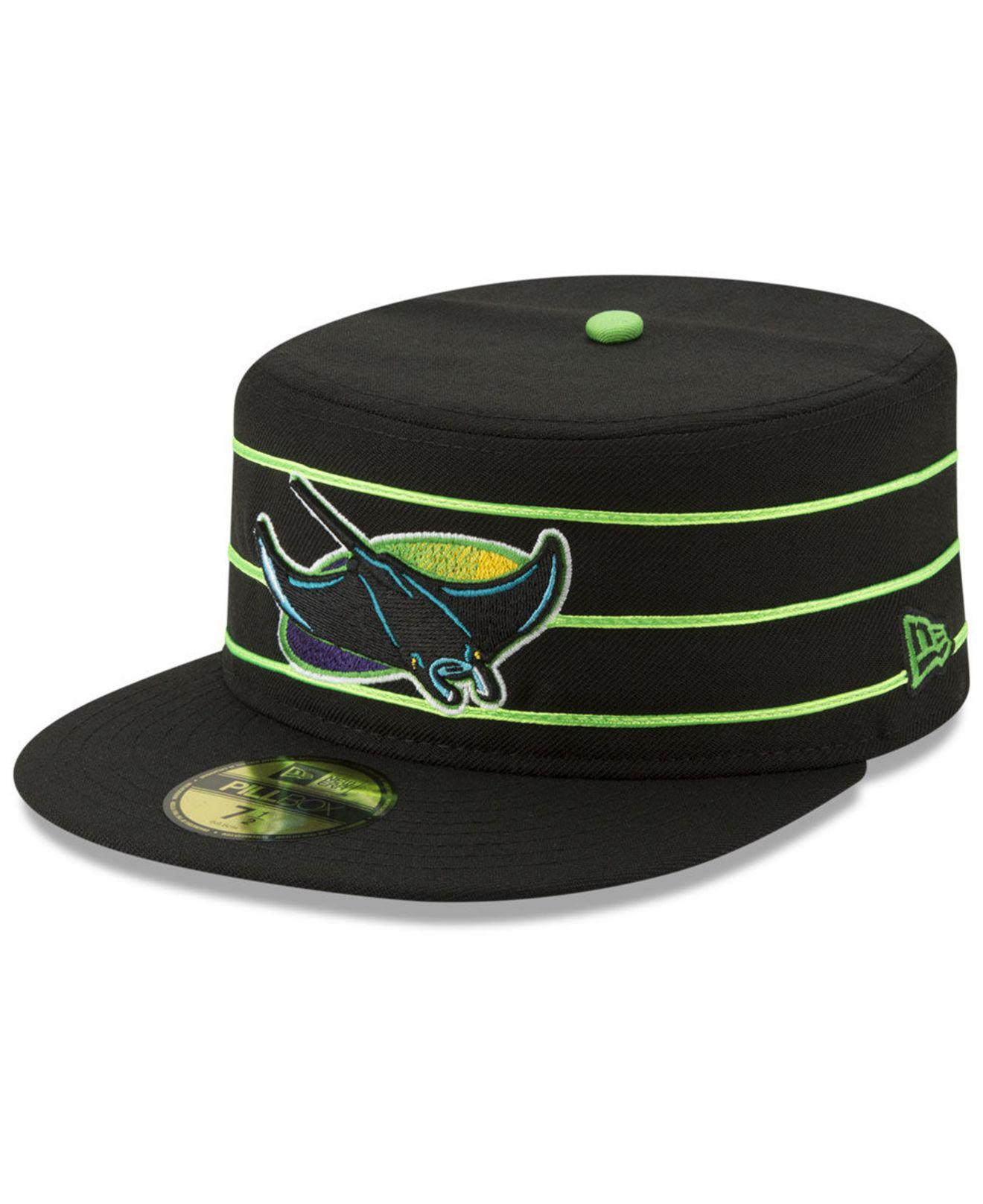 best sneakers 38d2e c7477 KTZ Tampa Bay Rays Pillbox 59fifty-fitted Cap in Green for Men - Lyst