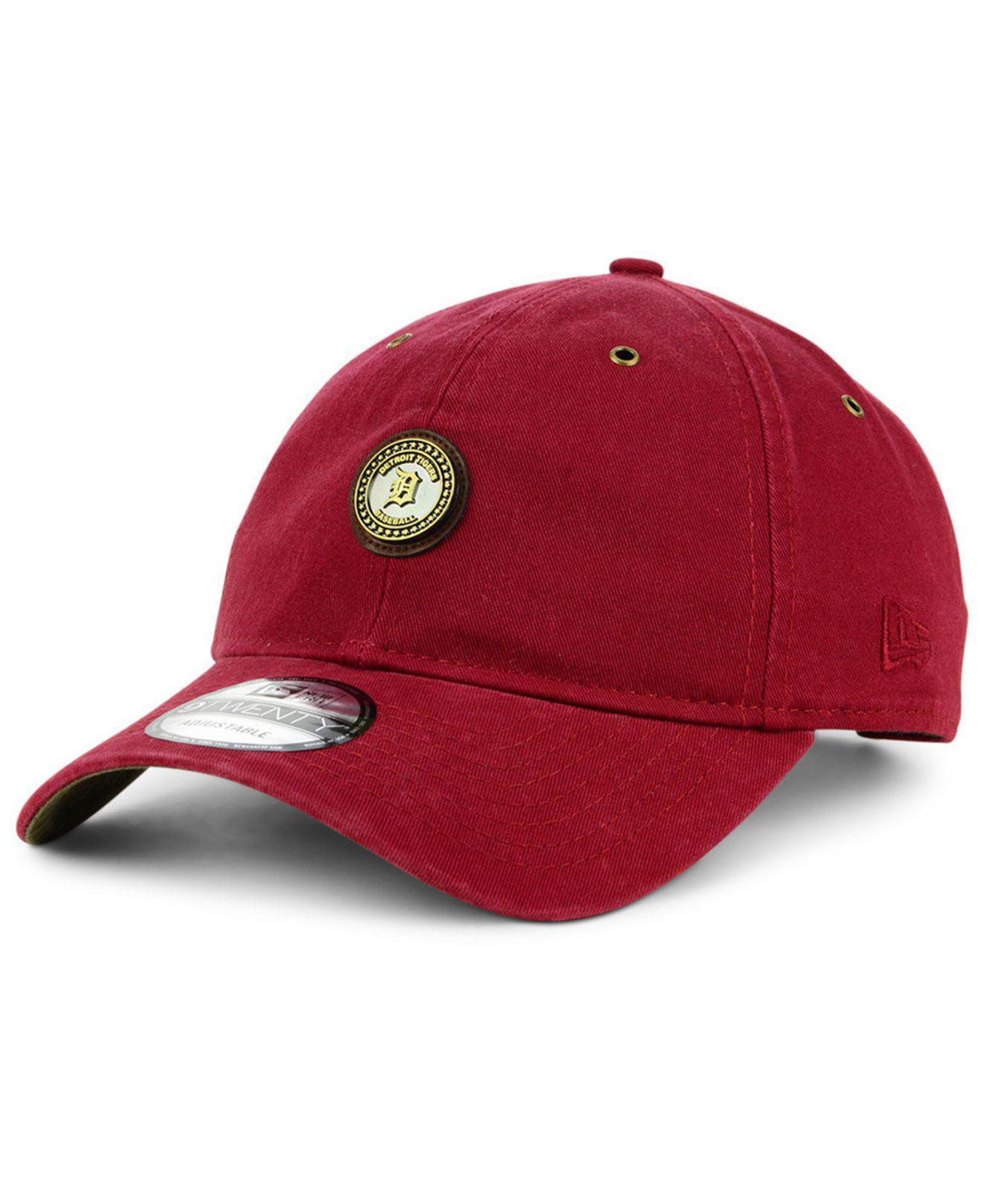the latest 17c9a 4aeaa ... core classic strapback hat graphite mlb 5cfe2 61c23  new zealand ktz.  mens red detroit tigers coin 9twenty cap 82835 09eb9