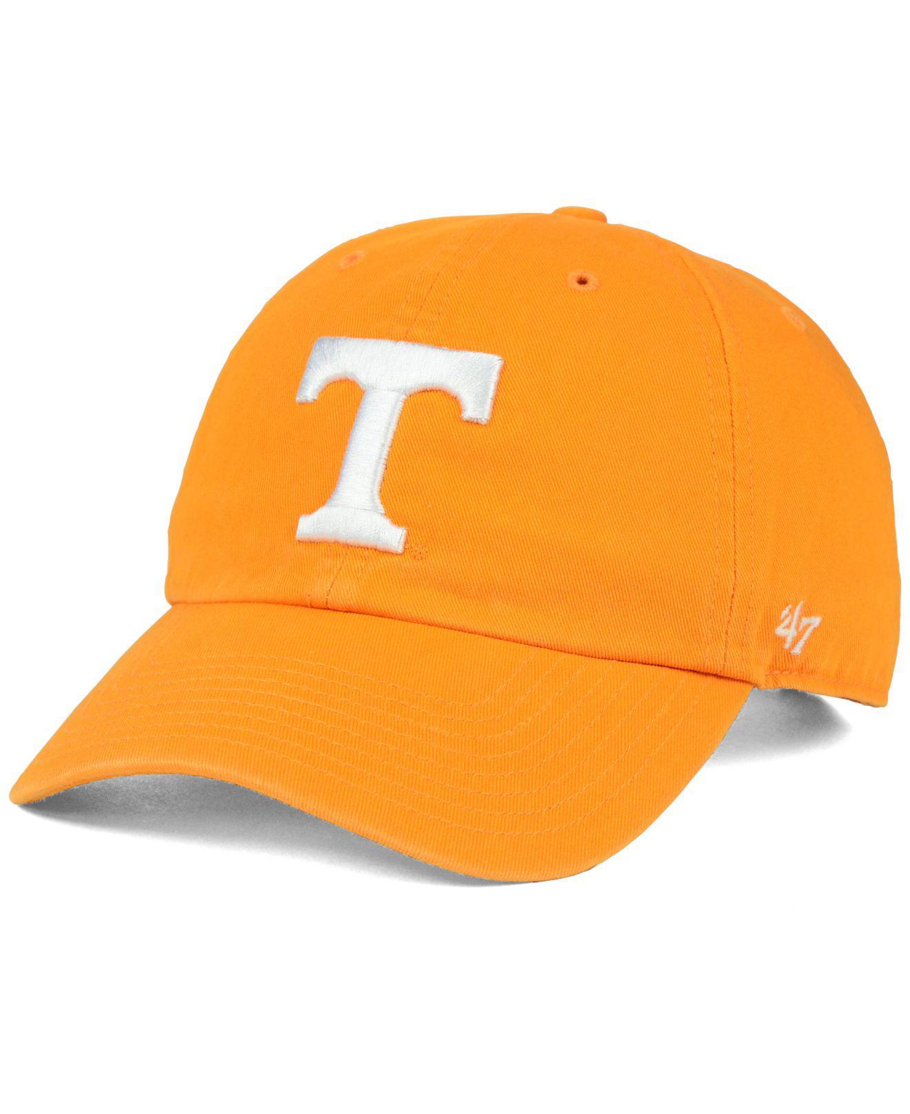 quality design 3371c 29669 47 Brand. Women s Orange Tennessee Volunteers Clean Up Cap