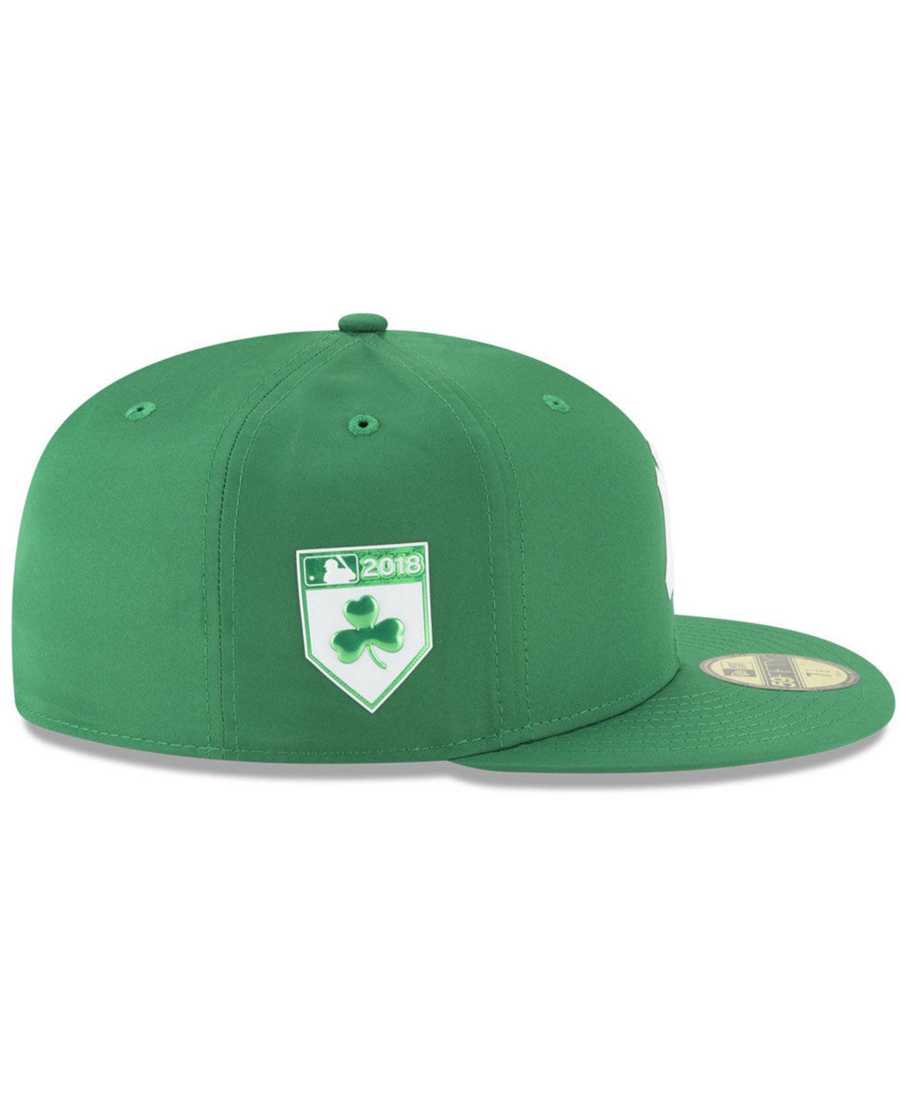 best sneakers 20a49 cfaf1 Lyst - KTZ New York Yankees St. Patty s Day Pro Light 59fifty Fitted ...