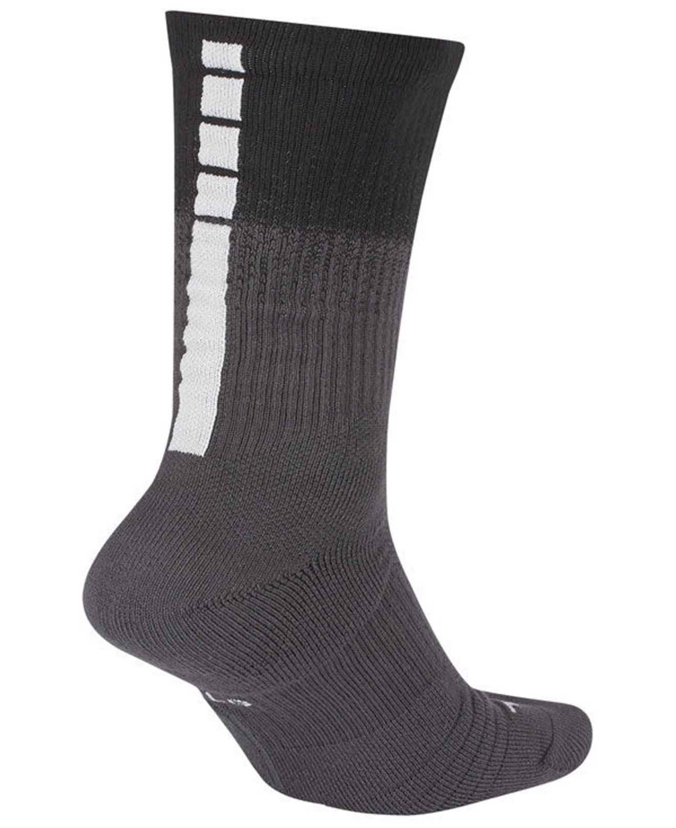 Lyst - Nike Detroit Pistons City Edition Elite Crew Socks in Black for Men 568eeb09b