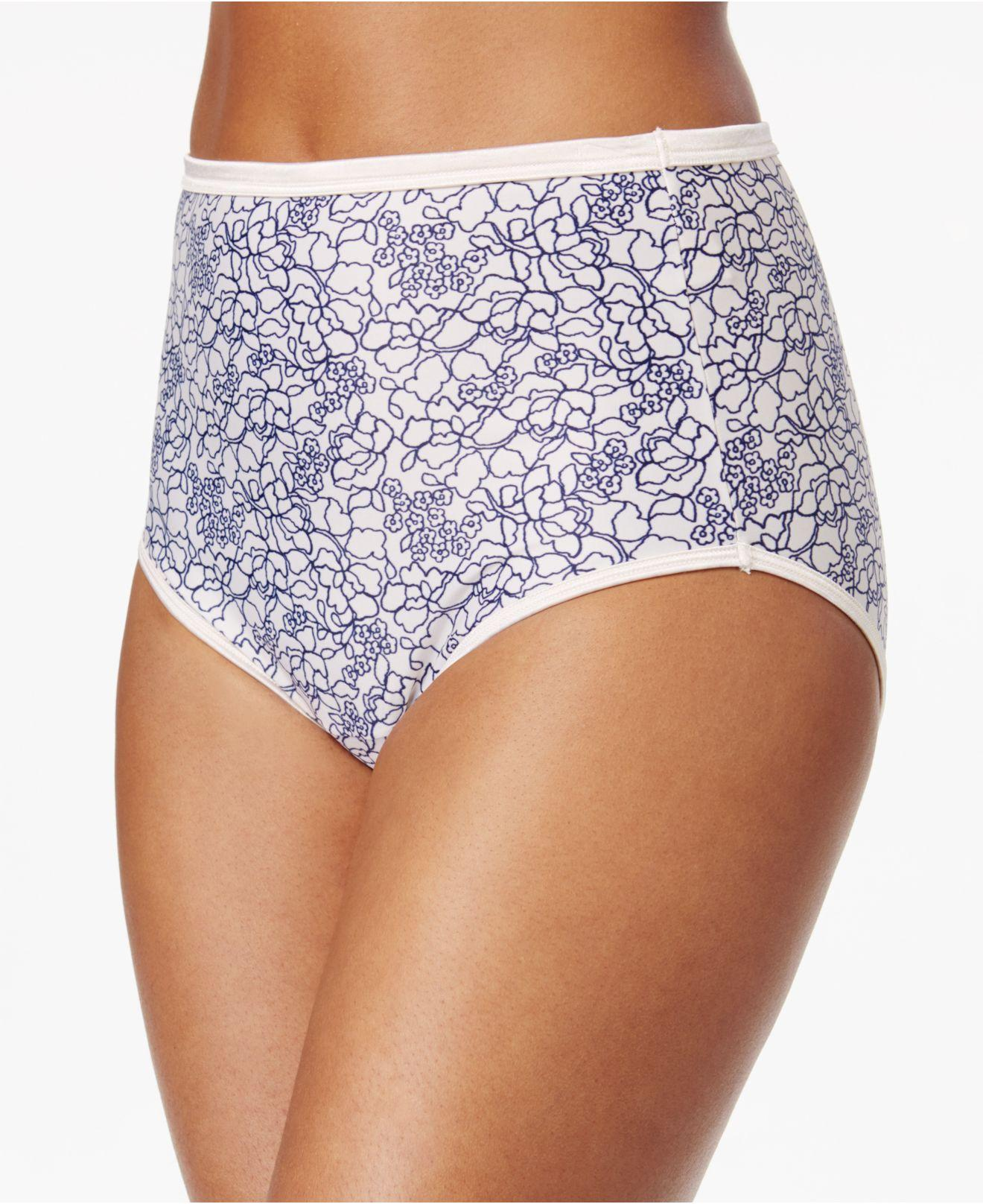0dd1f6958f3f Vanity Fair. Women's Purple Plus Size Body Shine Illumination Brief 13109