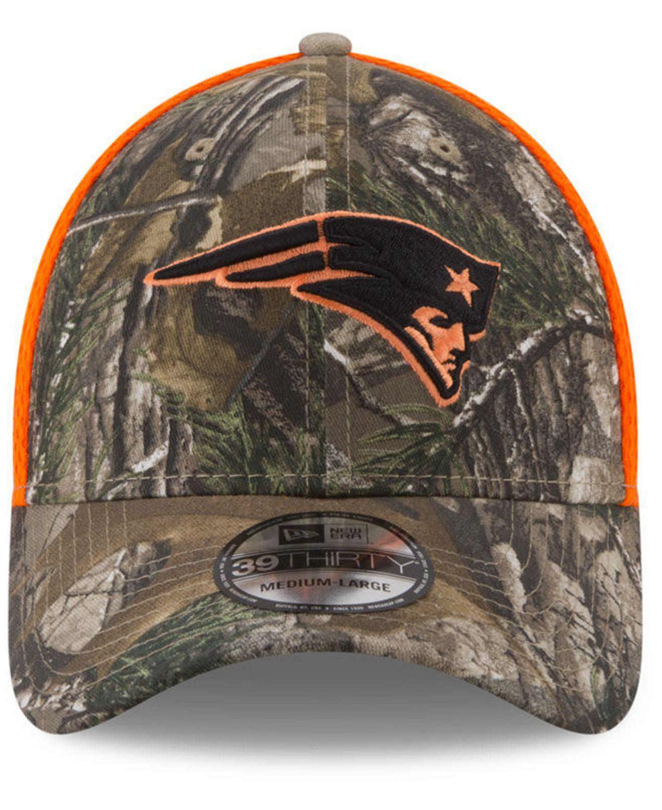 e805afcc7 ... hat heather gray ab0a0 bee1d; best price lyst ktz new england patriots  realtree hunter neo 39thirty cap for men 9519d 03ee8