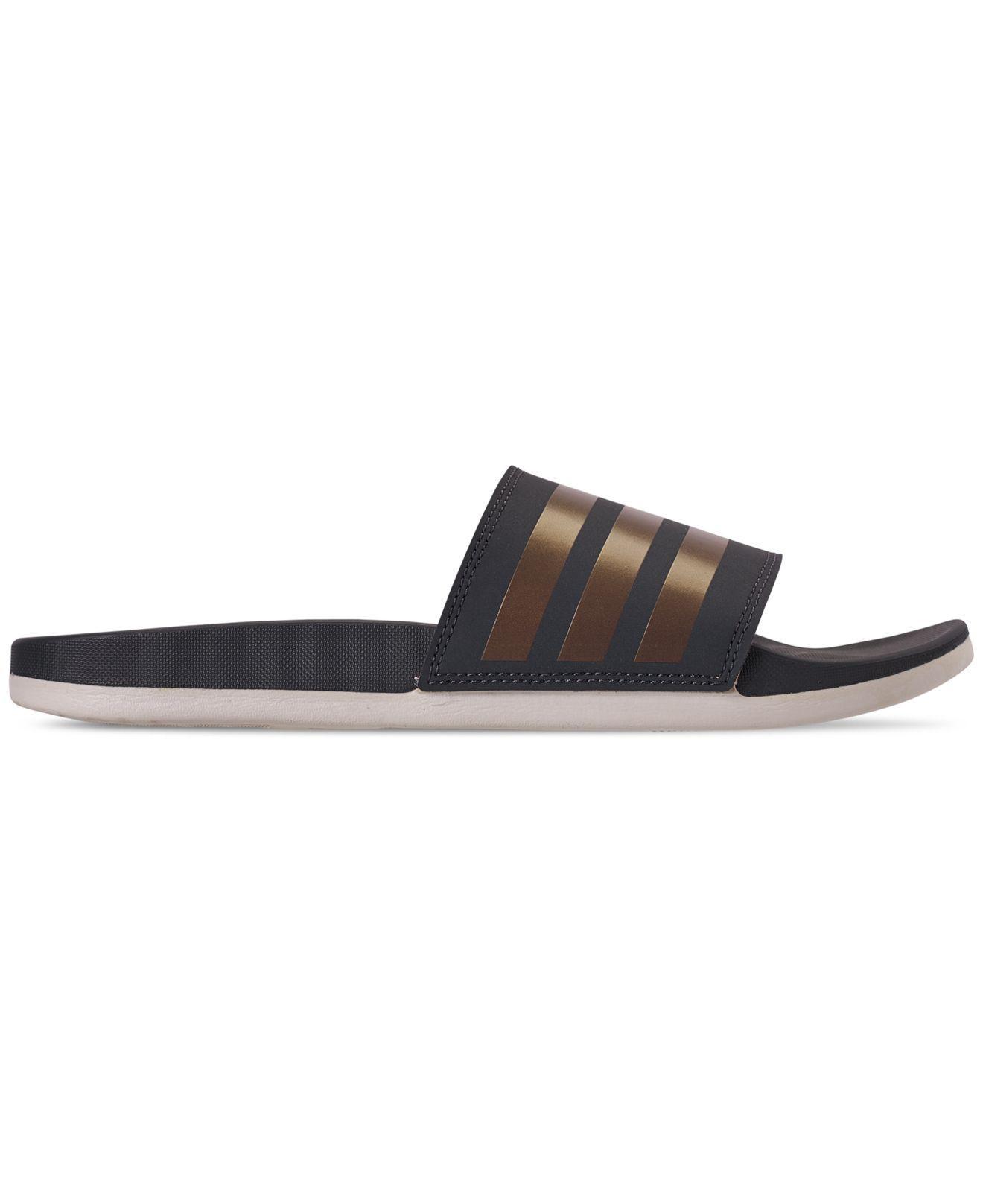 aede93fe5f833 Lyst - adidas Adilette Comfort Slide Sandals - Save 26%