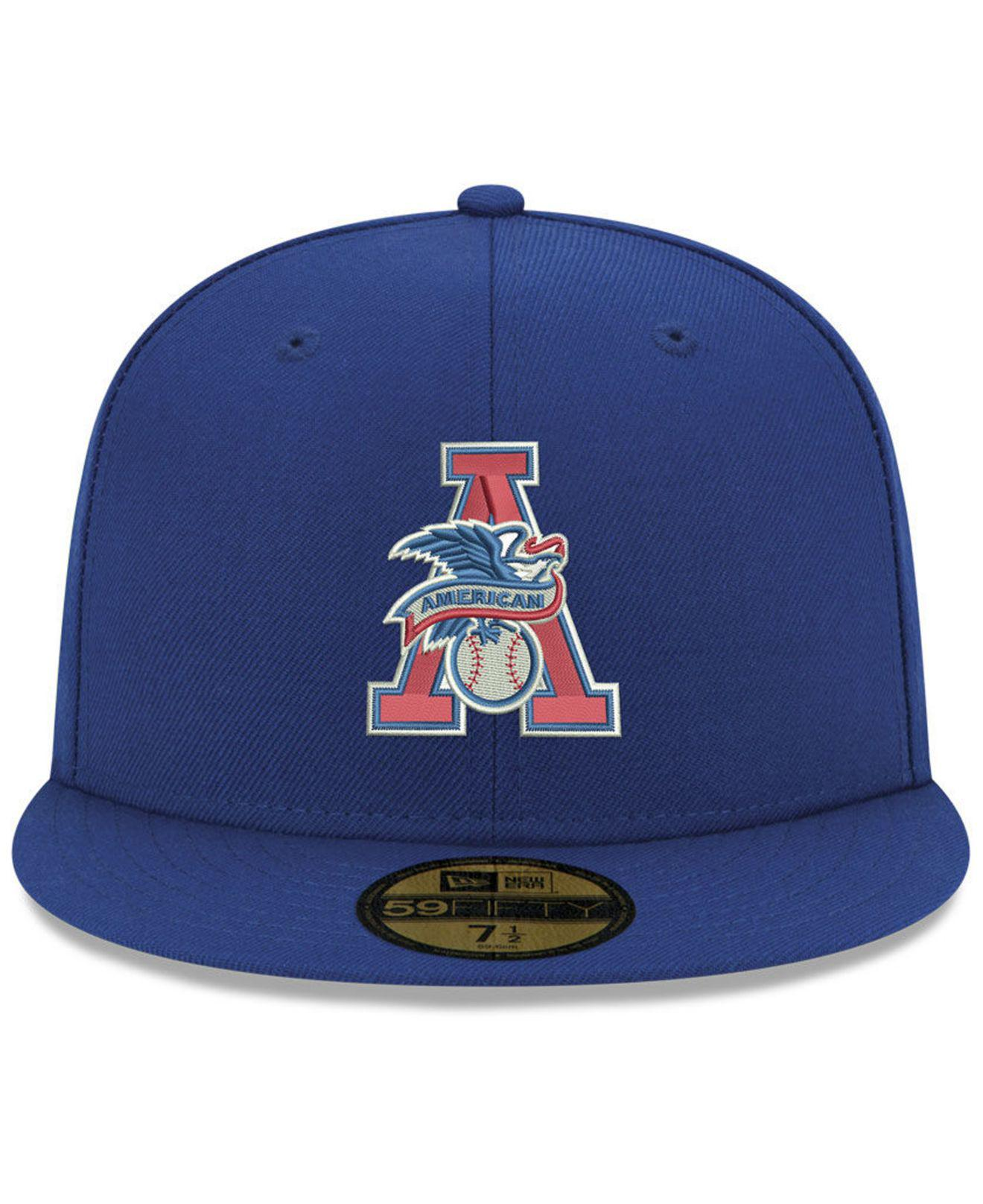Lyst - Ktz Texas Rangers League Front 59fifty Fitted Cap in Blue for Men 6e34ccdeb1eb