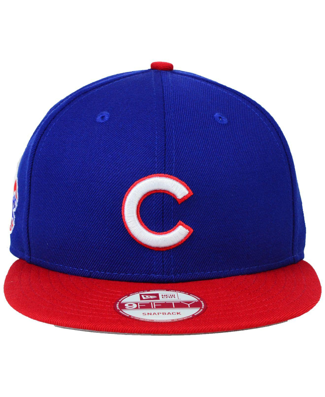 more photos 76884 34082 Lyst - KTZ Chicago Cubs 2-tone Link 9fifty Snapback Cap in Blue for Men