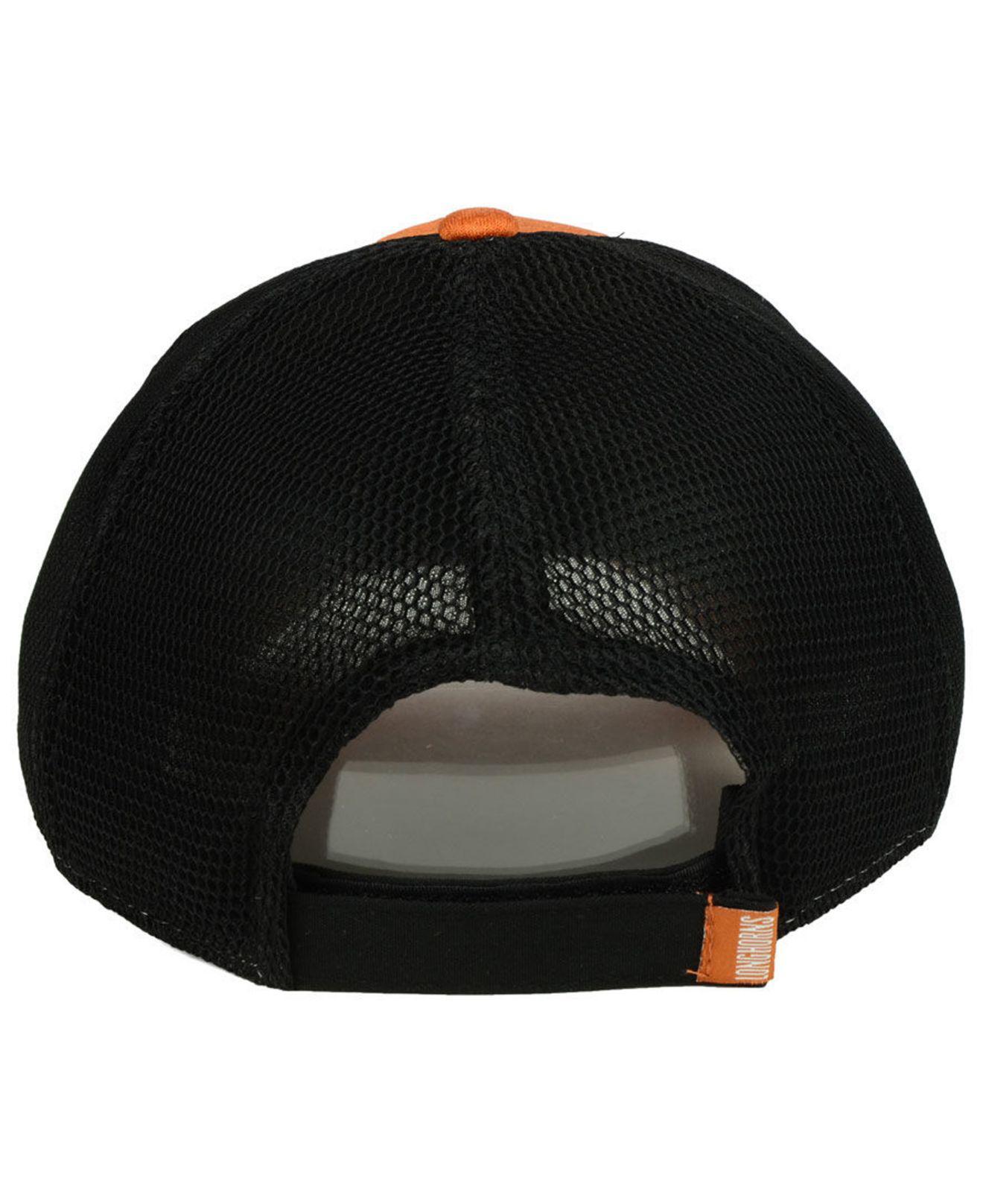 newest d39ba 545e0 ... sale texas longhorns tech trim 9forty cap for men lyst. view fullscreen  06798 68a6d