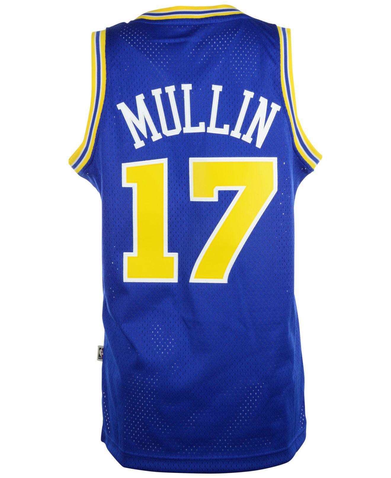 d8fc4e016f3 Adidas - Blue Chris Mullin Golden State Warriors Swingman Jersey for Men -  Lyst. View fullscreen