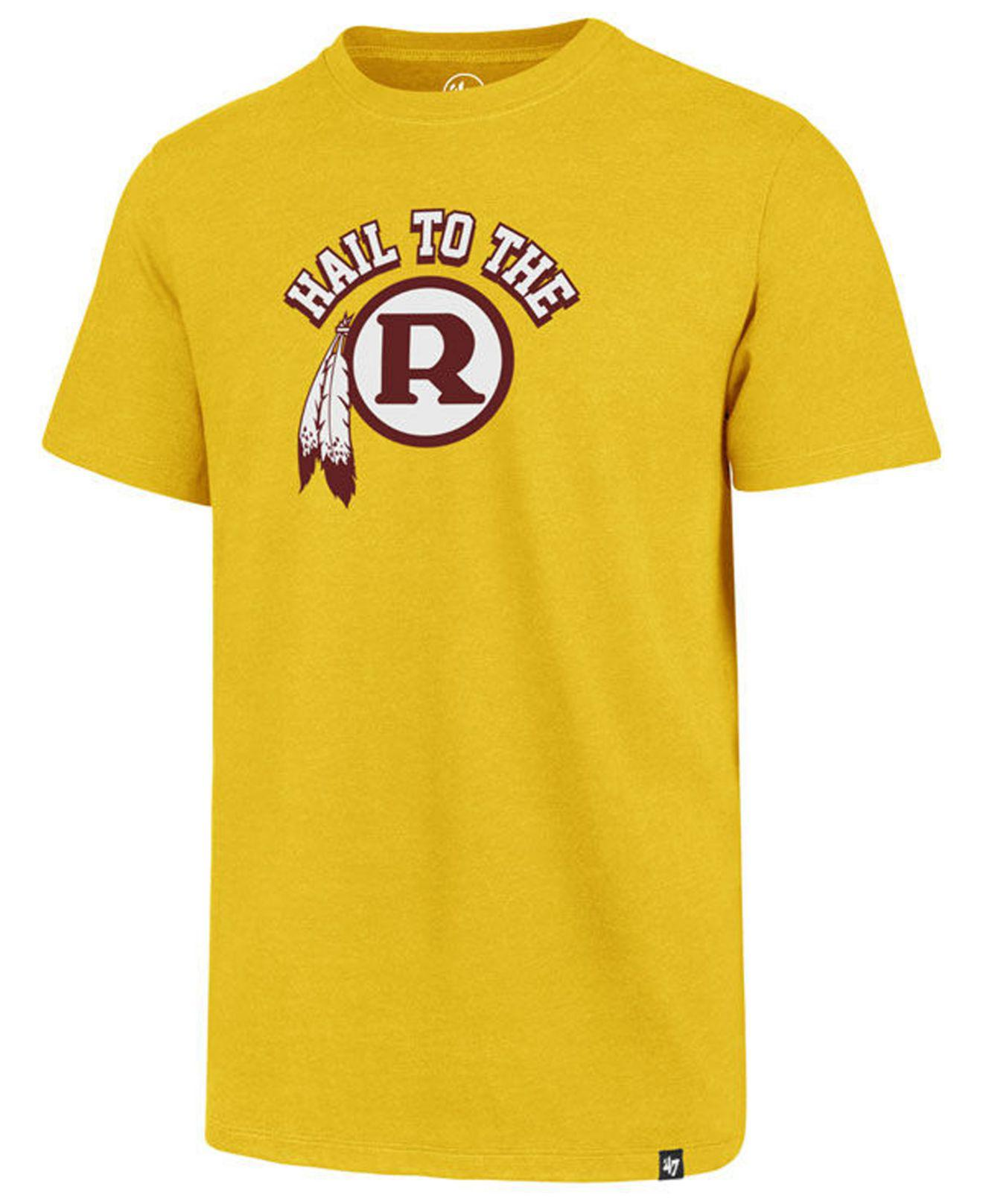 Lyst - 47 Brand Washington Redskins Regional Slogan Club T-shirt in ... 3e6bdf206