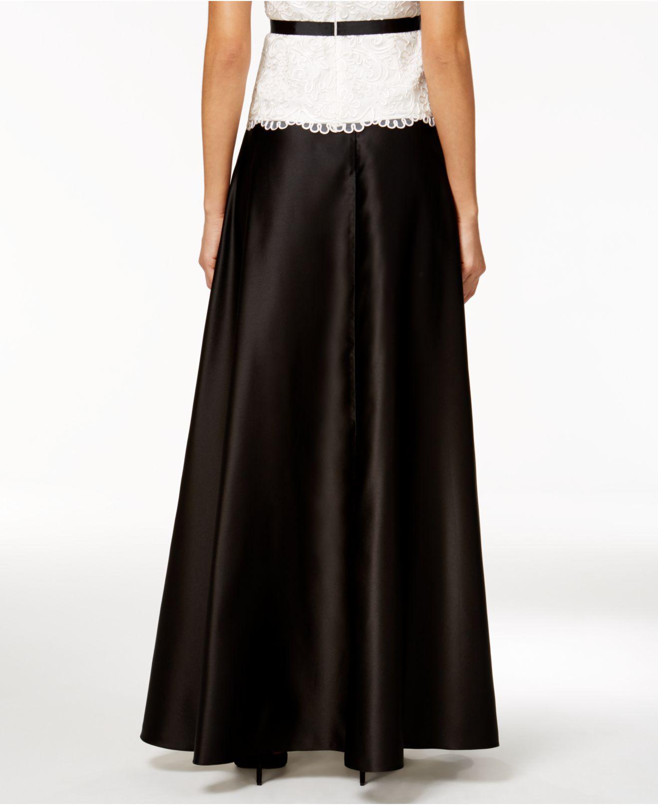 f44ee9a3dd6b Alex Evenings Petite Black Skirt