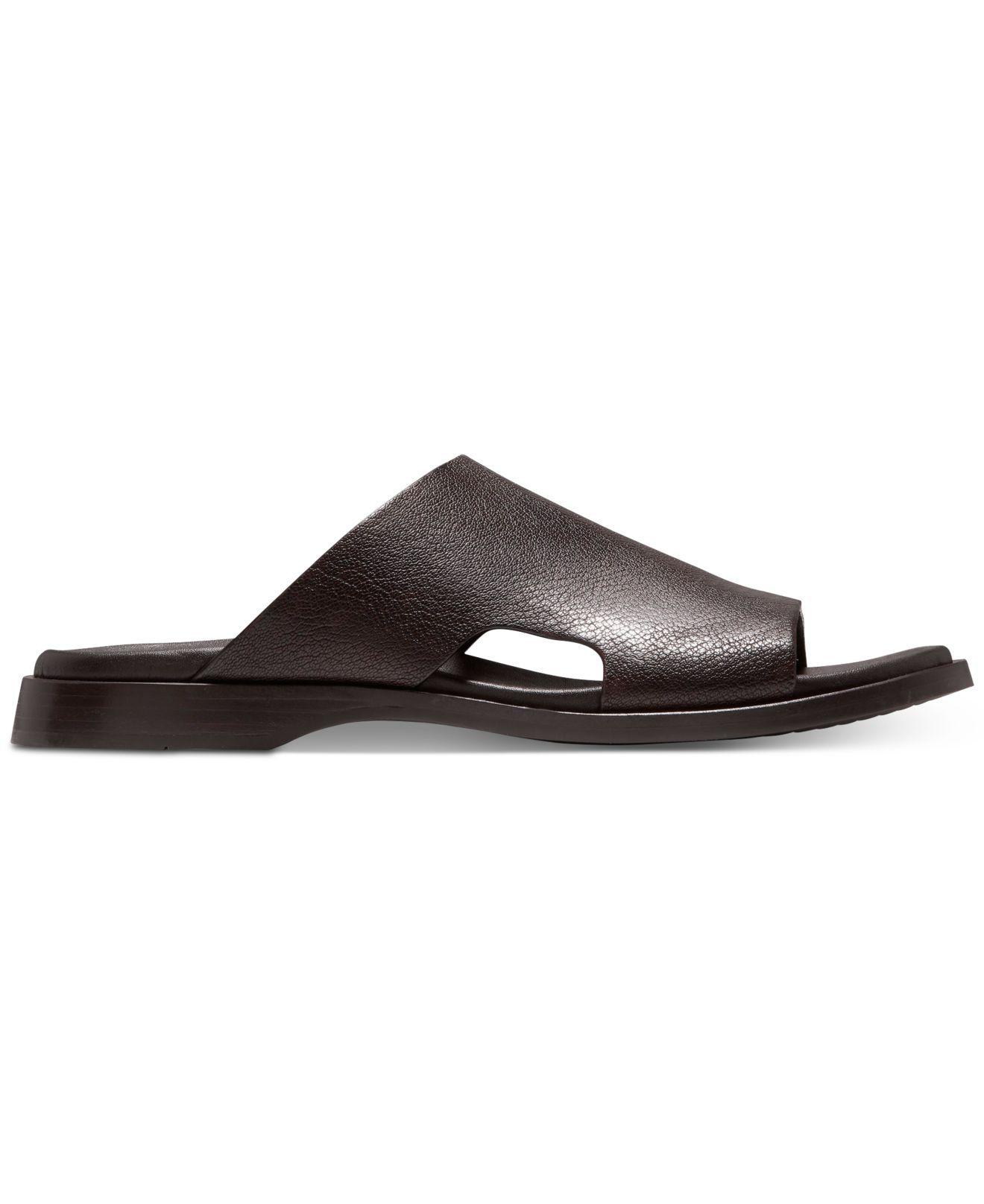 59574adebdaa Lyst - Cole Haan Goldwyn 2.0 Slide Sandals in Brown for Men - Save 33%