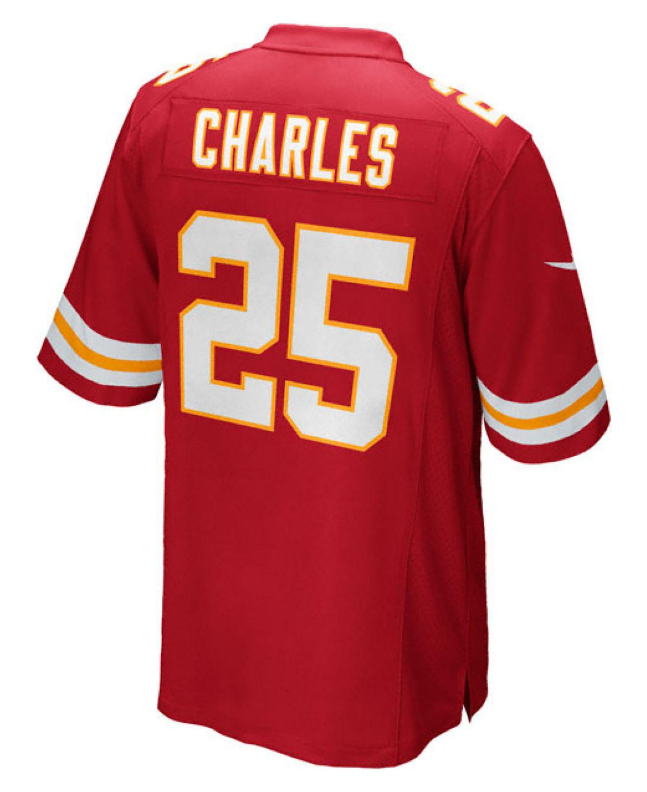 Lyst - Nike Men s Jamaal Charles Kansas City Chiefs Game Jersey in ... 4b8ac30c3