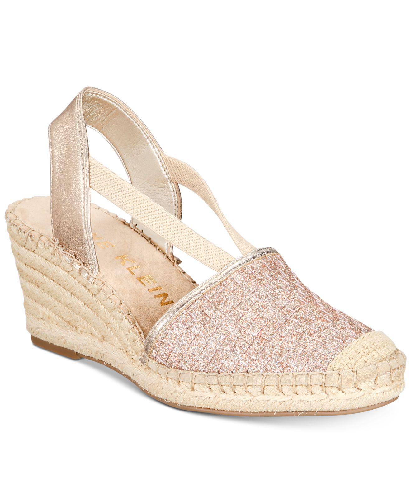 20ef569bfe0 Anne Klein. Women s Aneesa Wedge Sandals