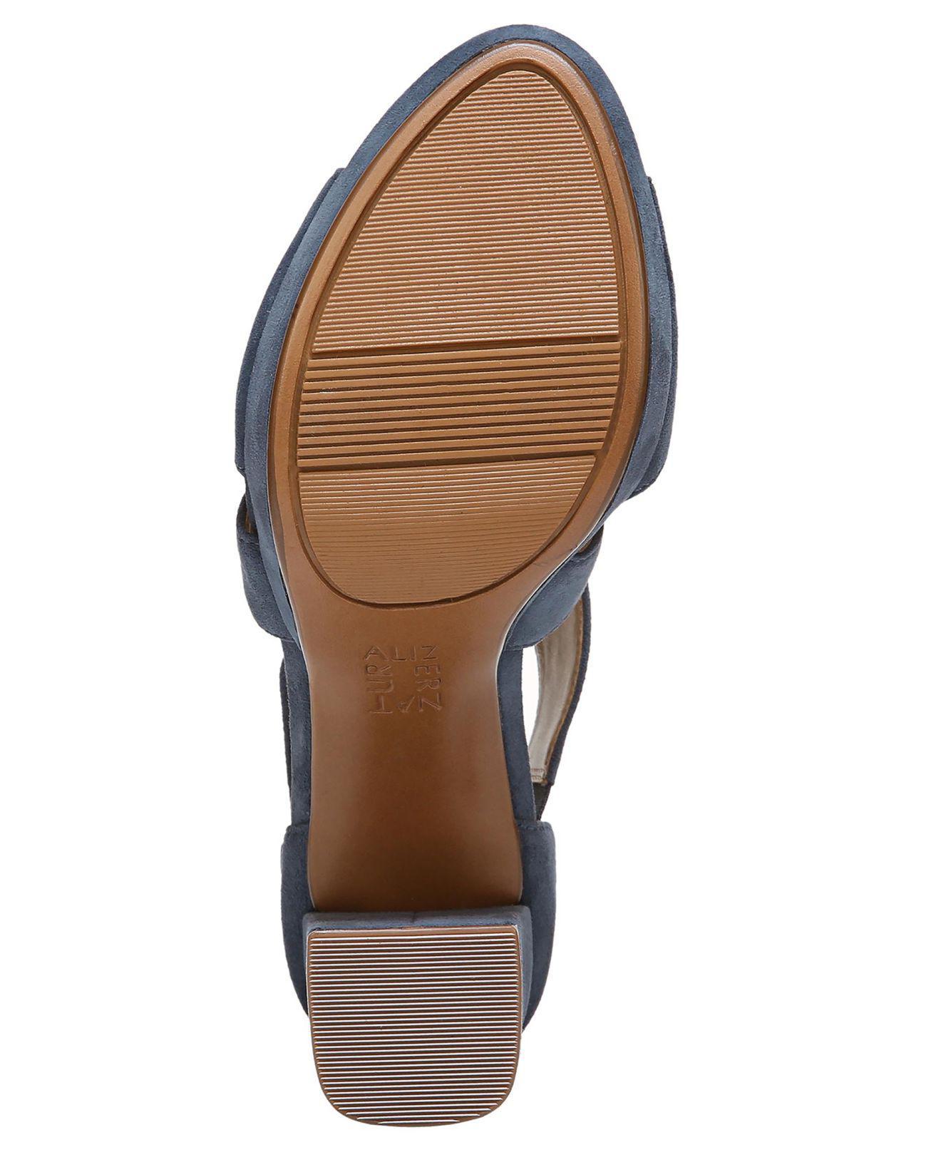 774cd18a4437 Lyst - Naturalizer Harper Dress Sandals in Blue