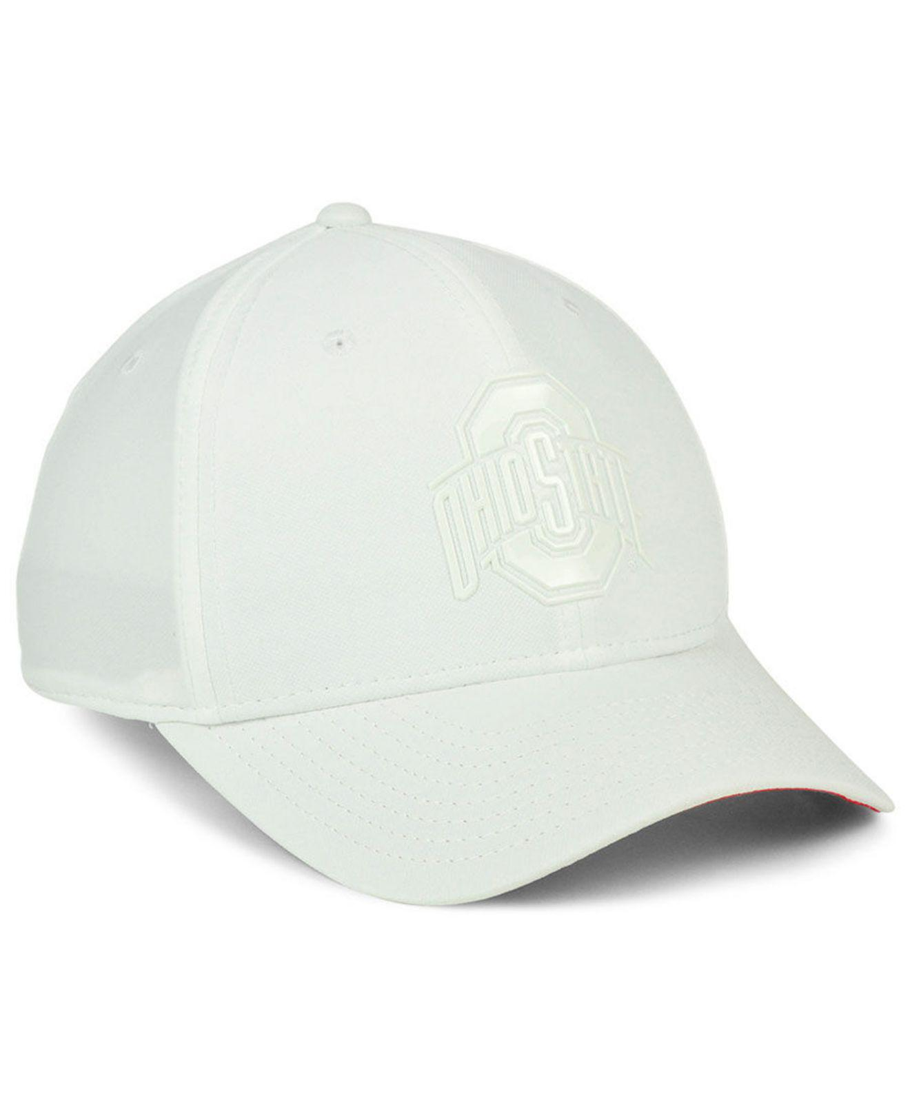 hot sale online 81ff3 a58ce Nike Ohio State Buckeyes Col Cap in White for Men - Lyst