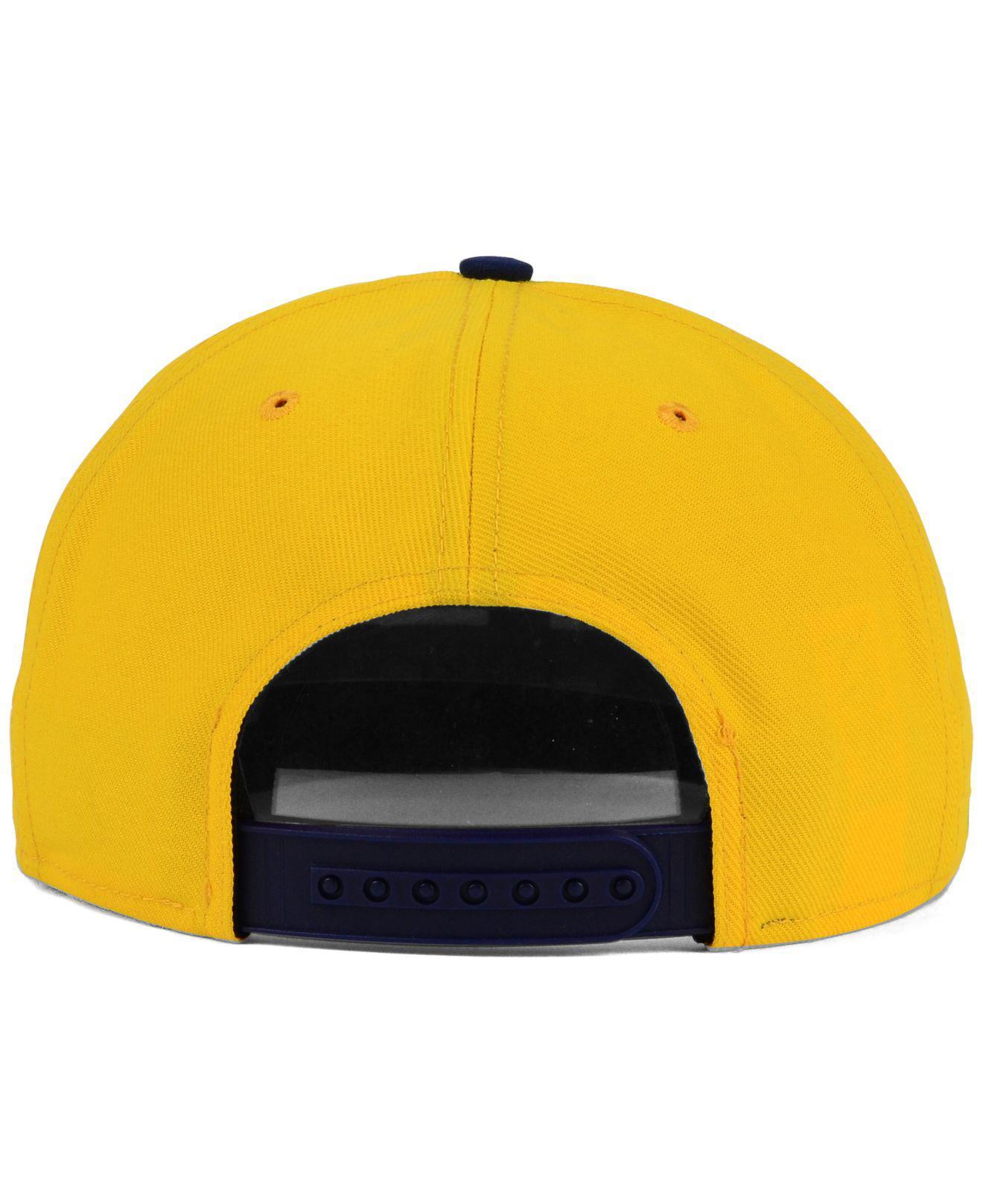 new style 128cc be35b ... discount code for nike blue california golden bears true seasonal snapback  cap for men lyst.