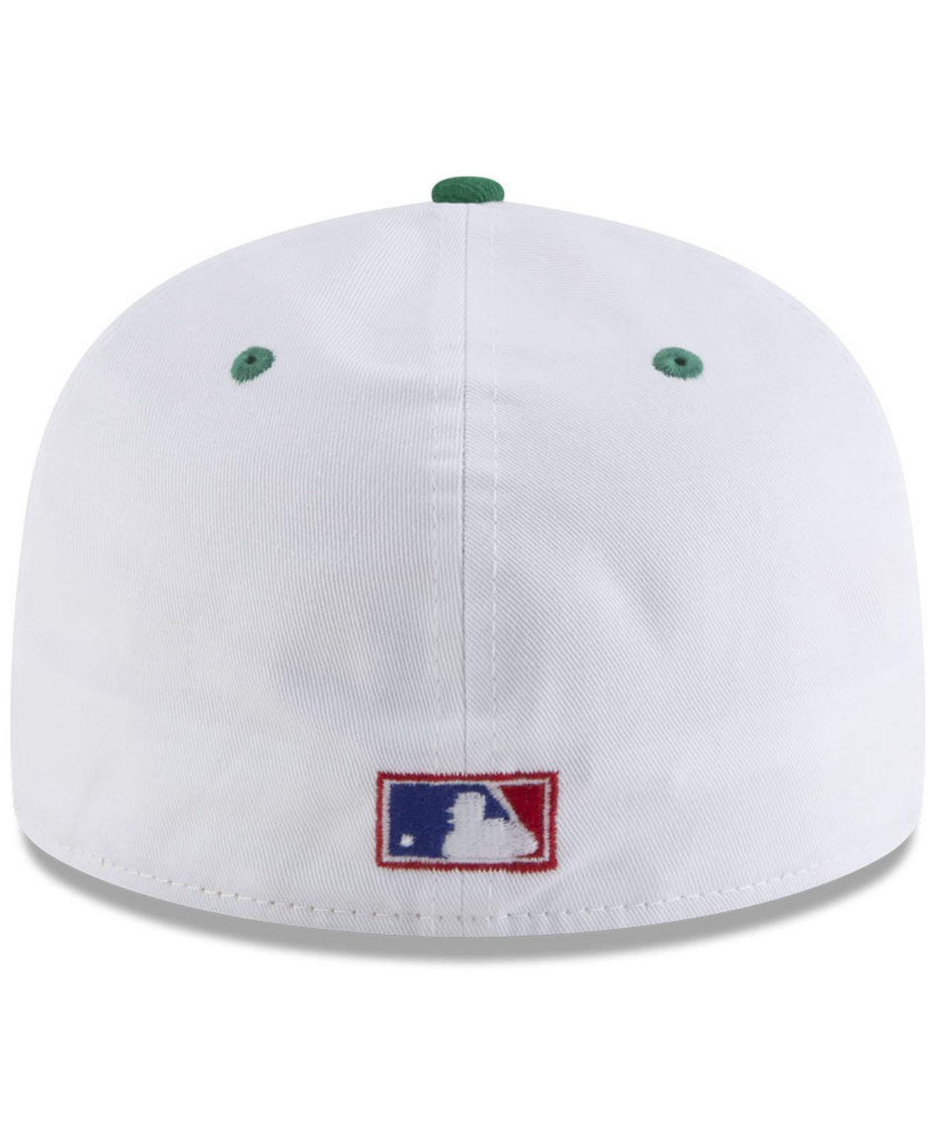 new style 4a632 94d77 ... release date milwaukee brewers retro diamond 59fifty fitted cap for men  lyst. view fullscreen 2370a
