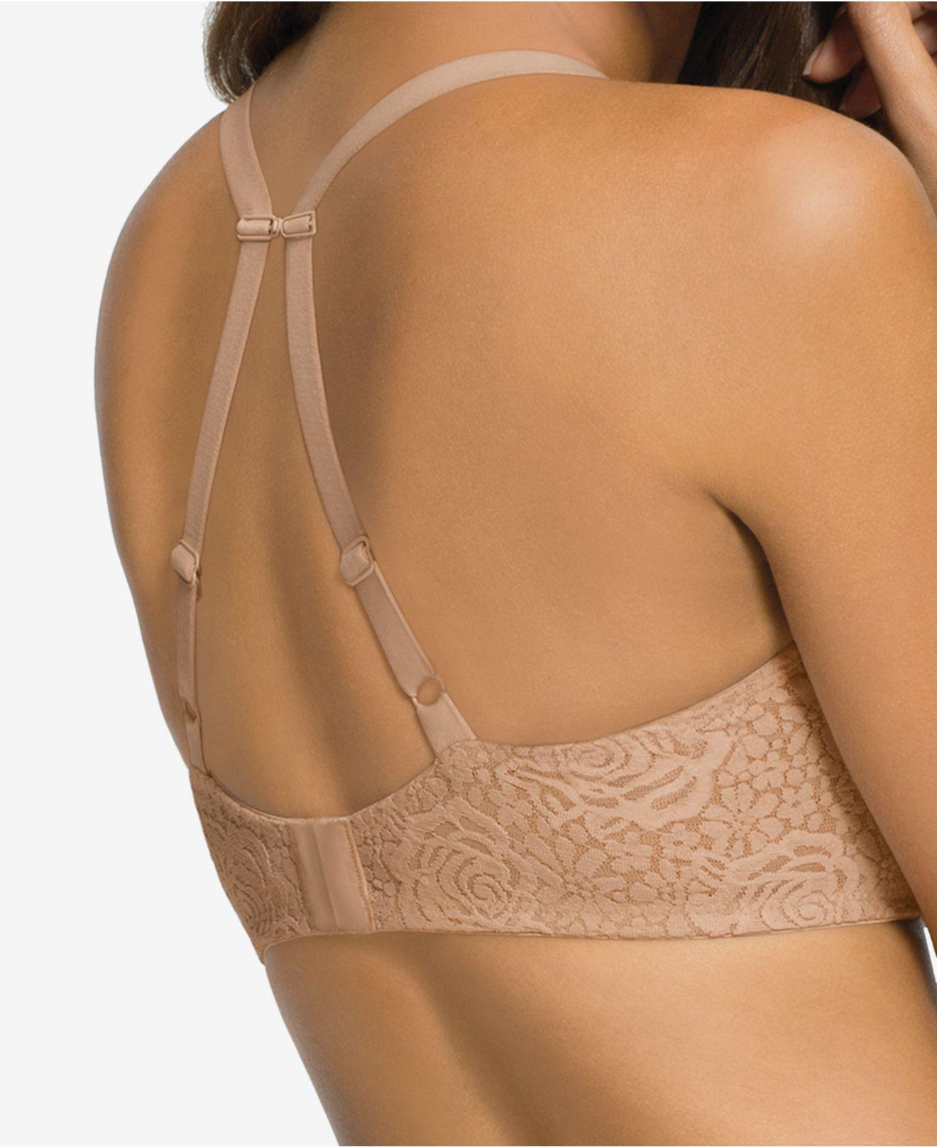 c2ad2fcce3 Lyst - Wacoal Halo Lace Molded Underwire Bra 851205 in Natural