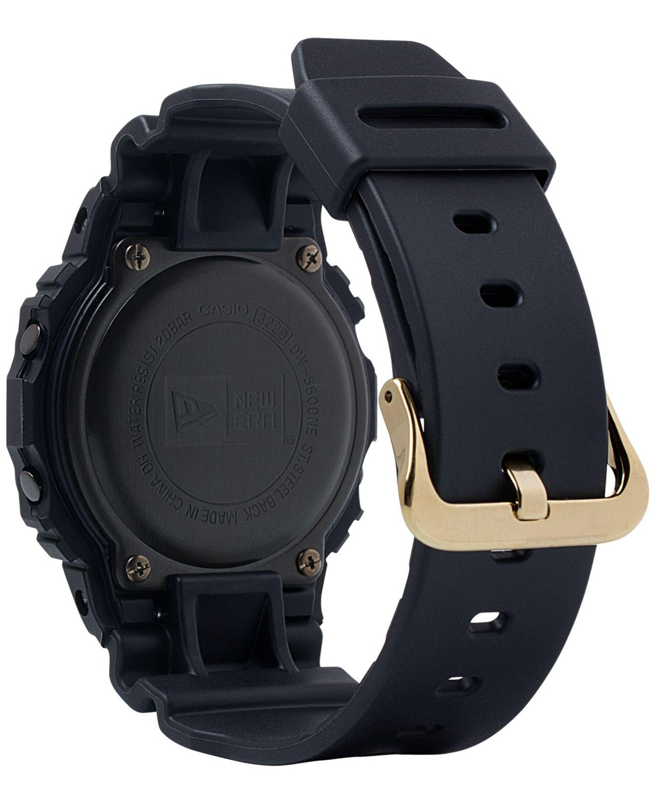 569f1c316 Lyst - G-Shock Digital New Era Black Resin Strap Watch 42.8mm - Limited  Edition in Black for Men