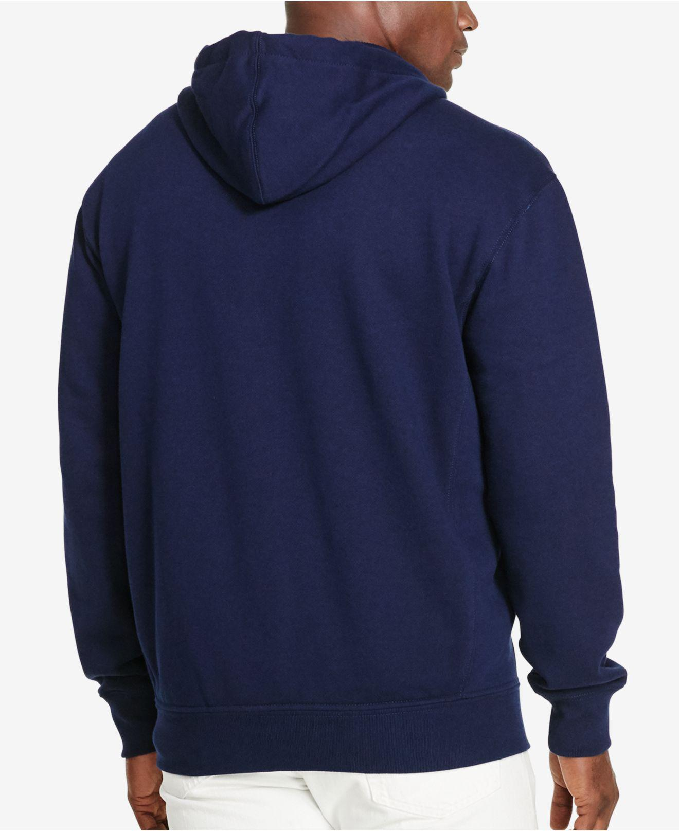 cb24f1acc2a1c5 ... czech lyst polo ralph lauren big and tall hoodie classic fleece hoodie  in blue for men
