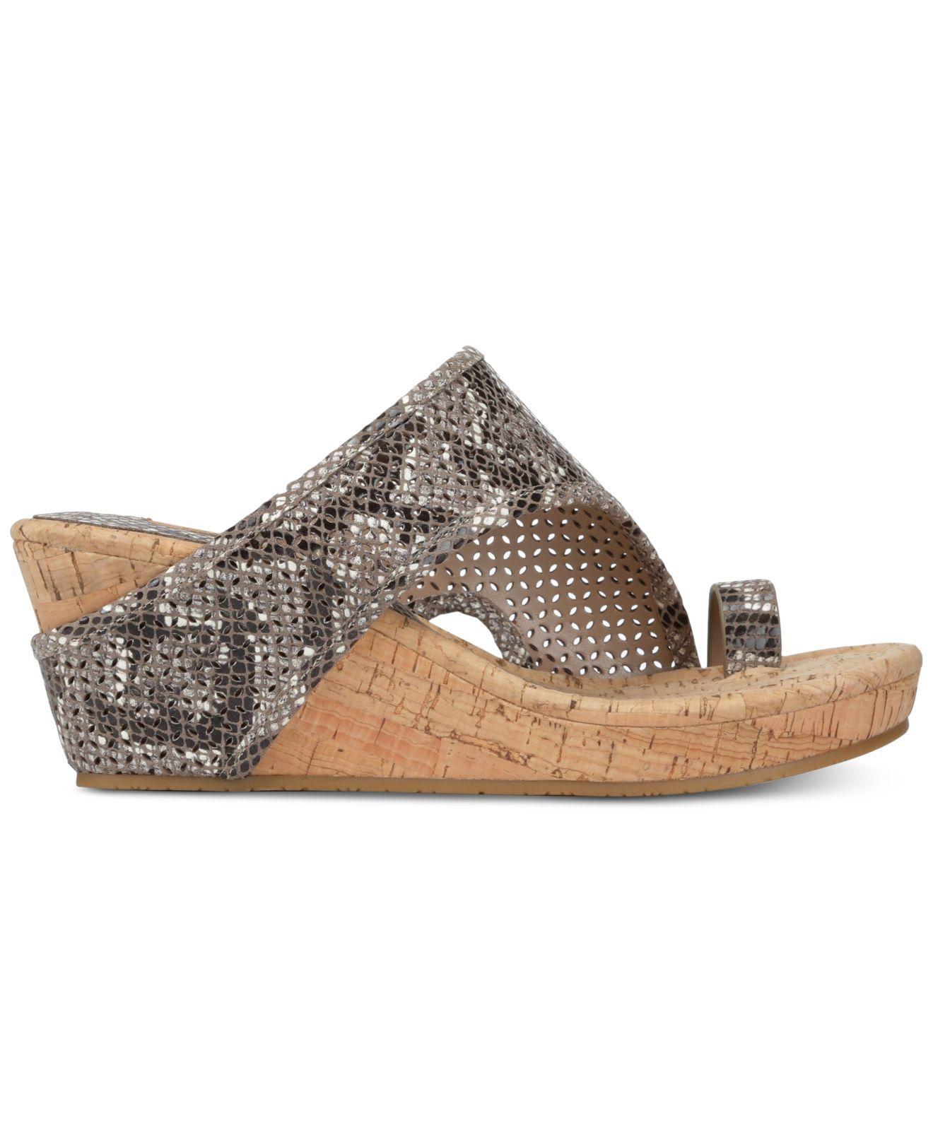 ead4aba7e56 Lyst - Donald J Pliner Gyer Wedge Sandals