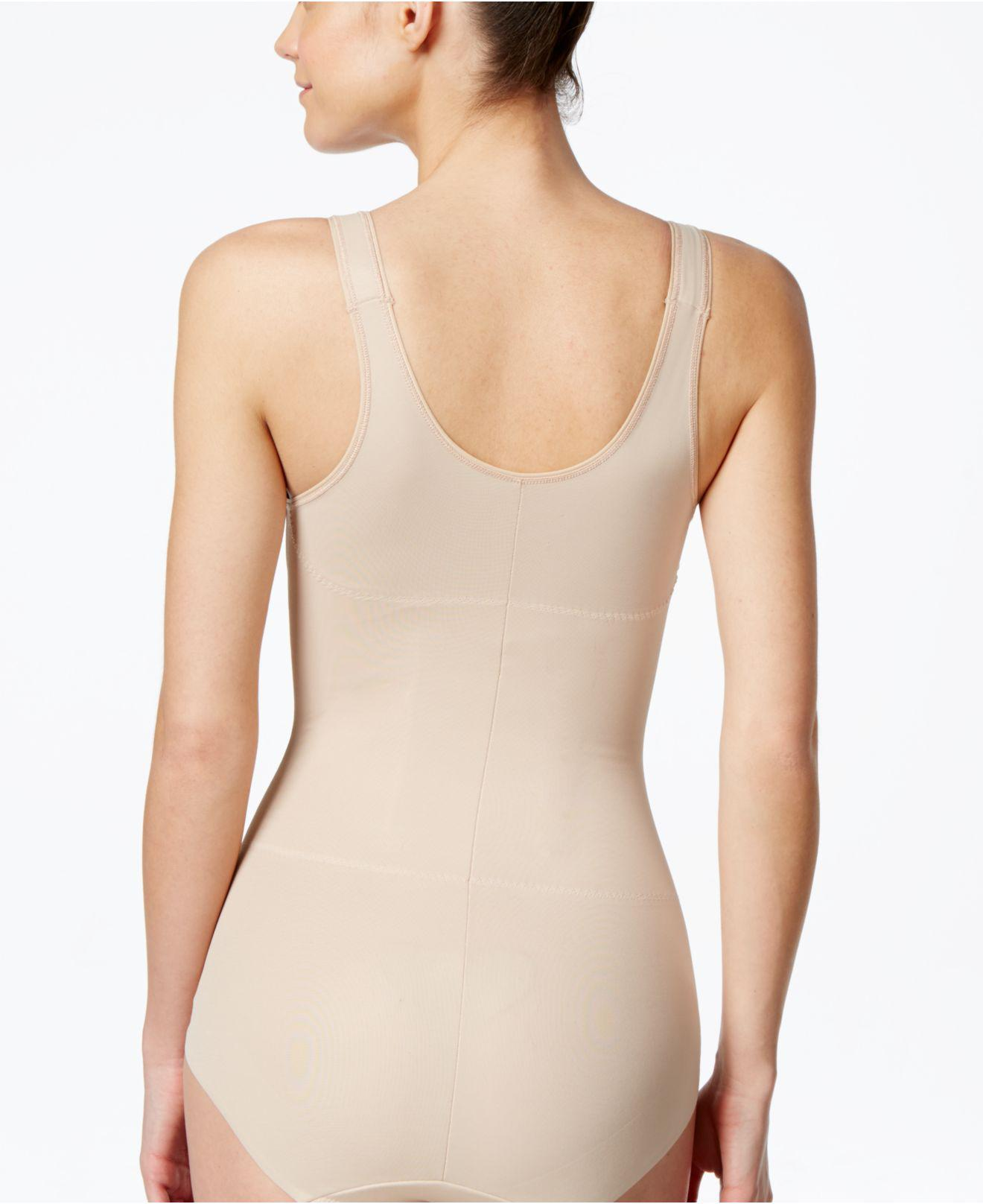 7761677f74 Lyst - Miraclesuit Shape Away Extra Firm Control Torsette Body Briefer 2918  in Natural - Save 2.941176470588232%