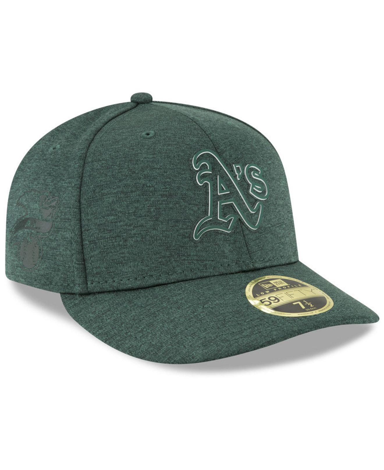 KTZ. Men s Green Oakland Athletics Clubhouse Low Crown 59fifty Fitted Cap 10944b06c3b6