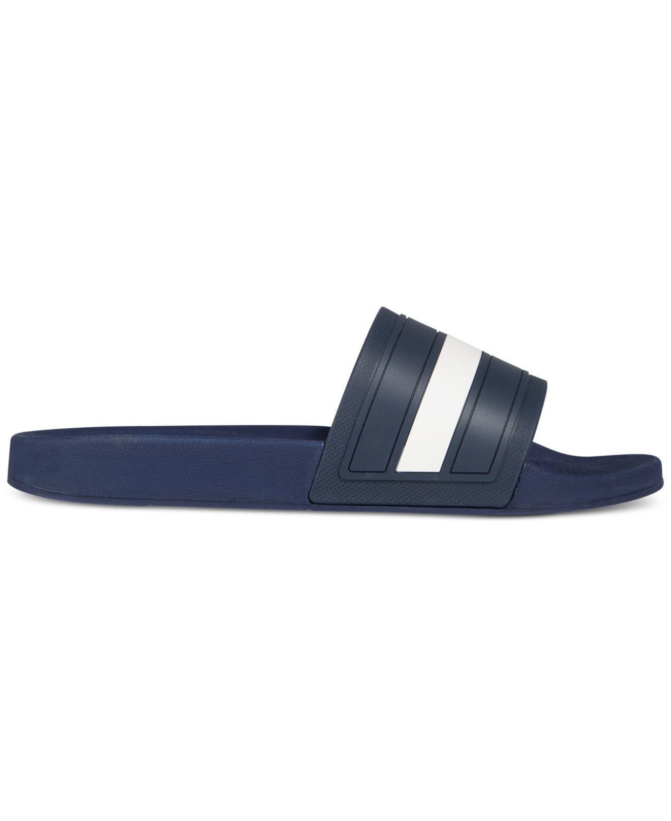 4a41d50c94a Lyst - Tommy Hilfiger Men s Elwood Slide Sandals in Blue for Men