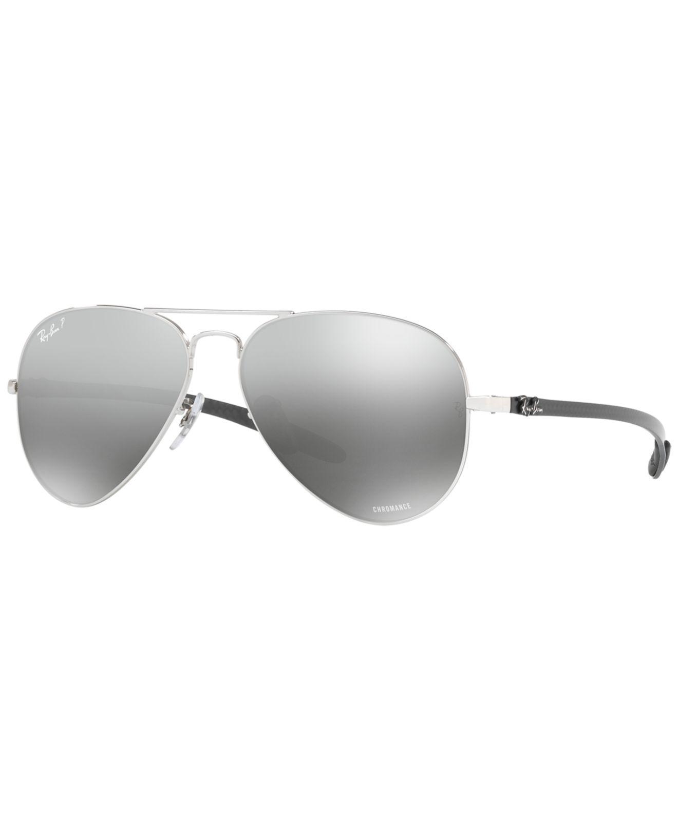 7a10415fd4d17 Ray-Ban. Men s Gray Polarized Sunglasses
