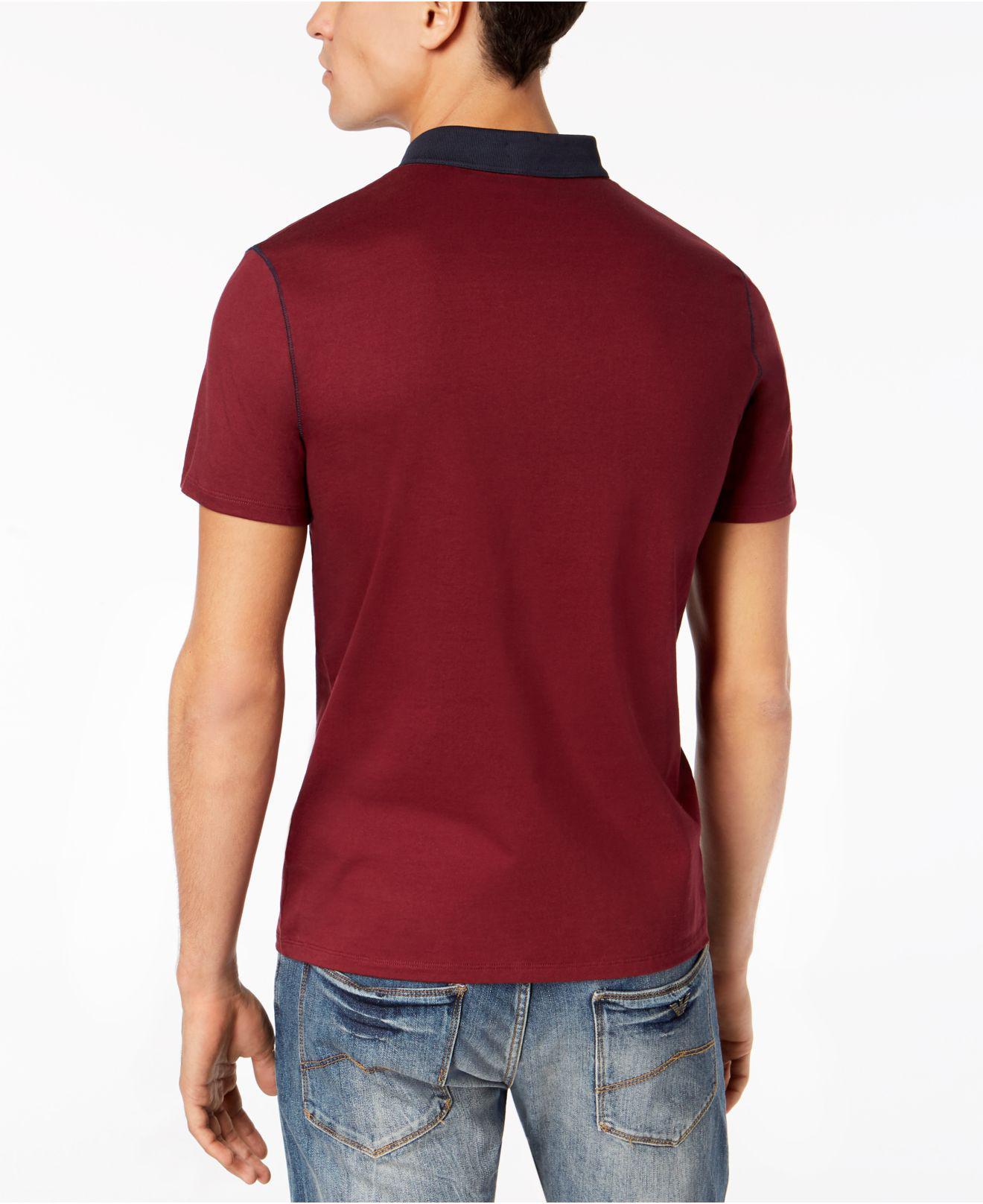 6aa196f0 Armani Exchange Polo Shirt Uk