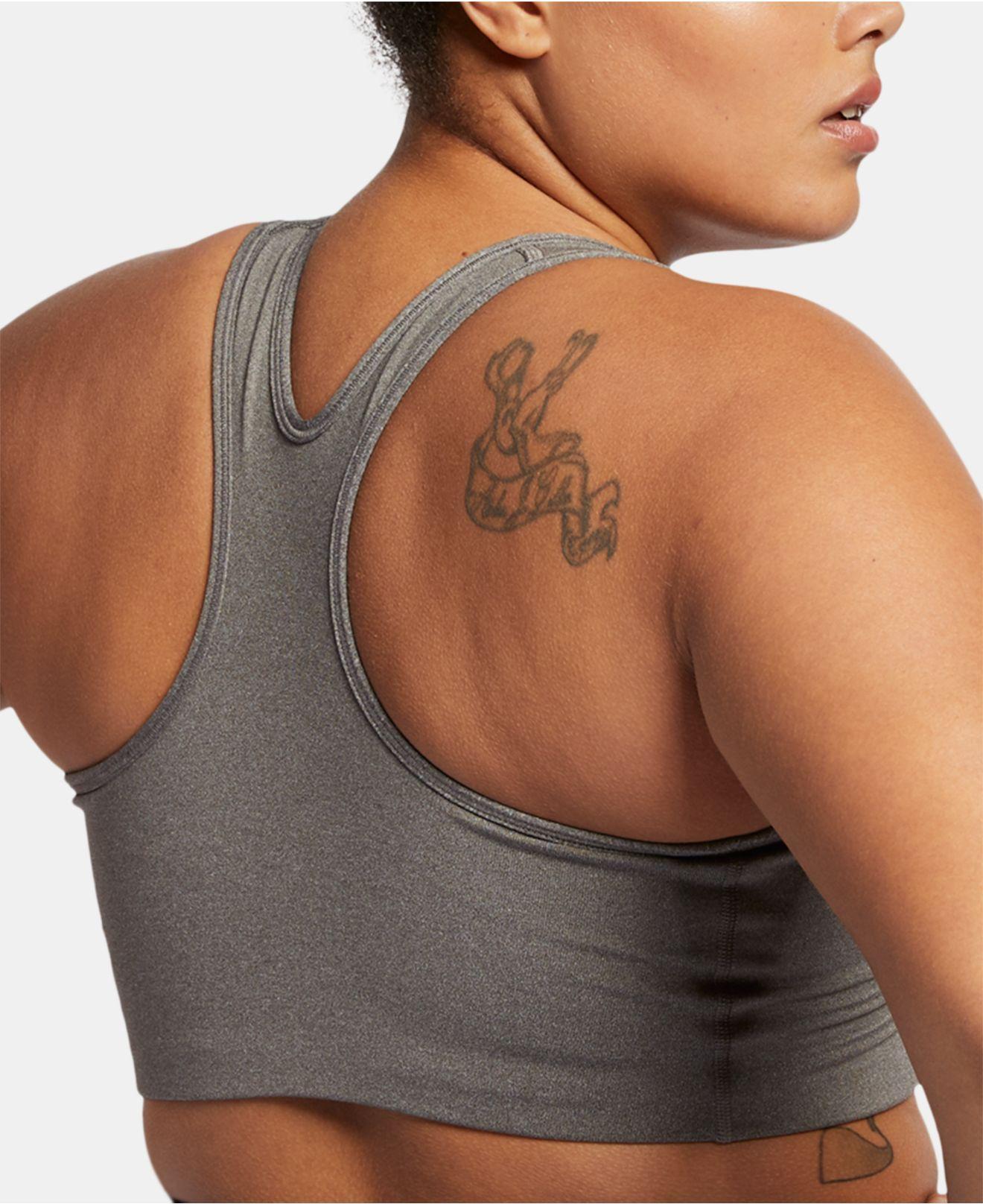 bda401bdf5429 Lyst - Nike Plus Size Dri-fit Medium-support Sports Bra in Gray