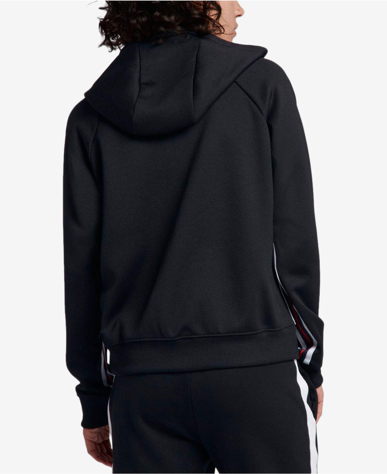 5cf258e3bc50 Lyst - Nike Sportswear Zip Hoodie in Black