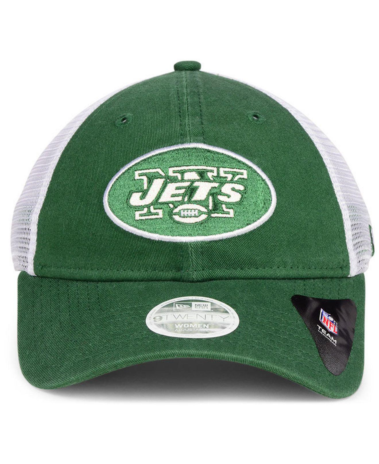 d8447612f79 Lyst - Ktz New York Jets Trucker Shine 9twenty Cap in Green