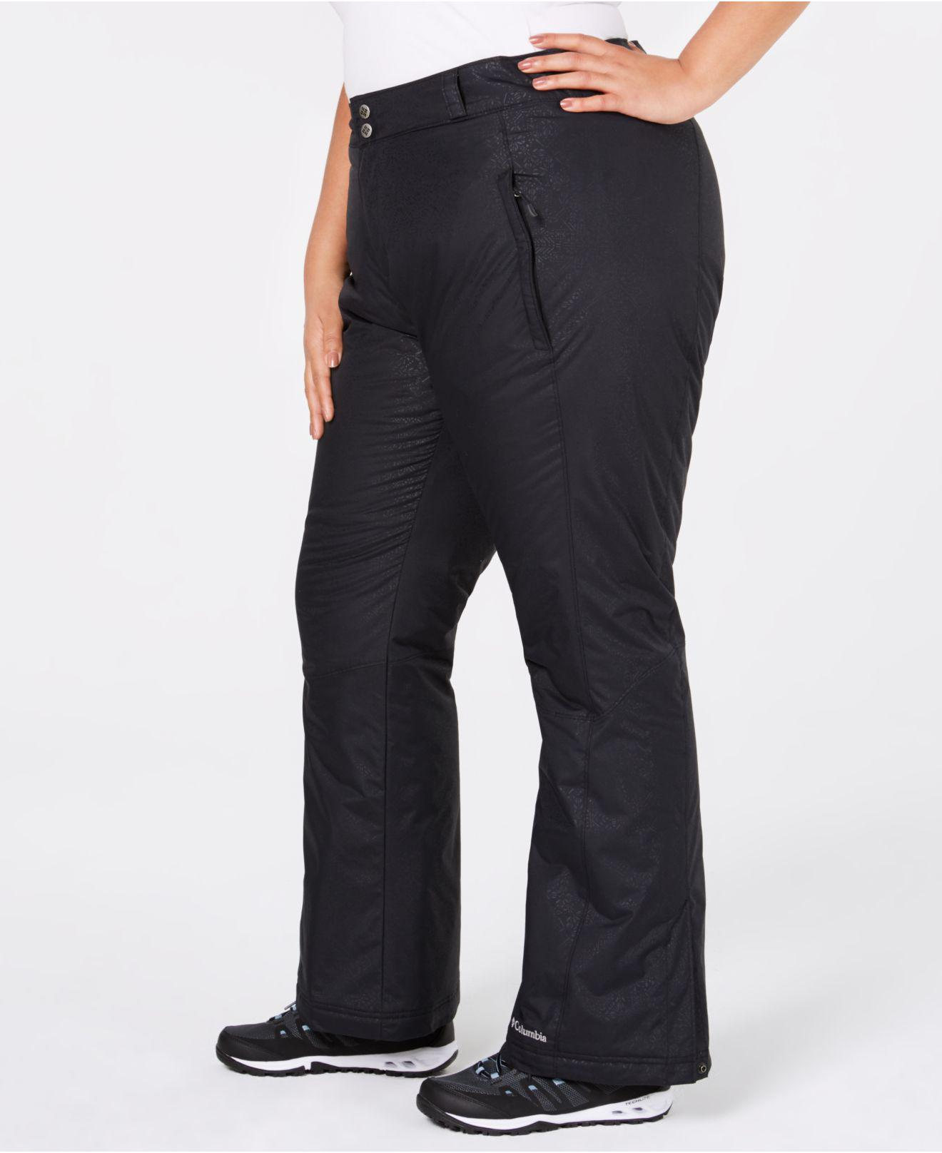 c6579c57ff7 Lyst - Columbia Plus Size Modern Mountaintm 2.0 Waterproof Pants in Black