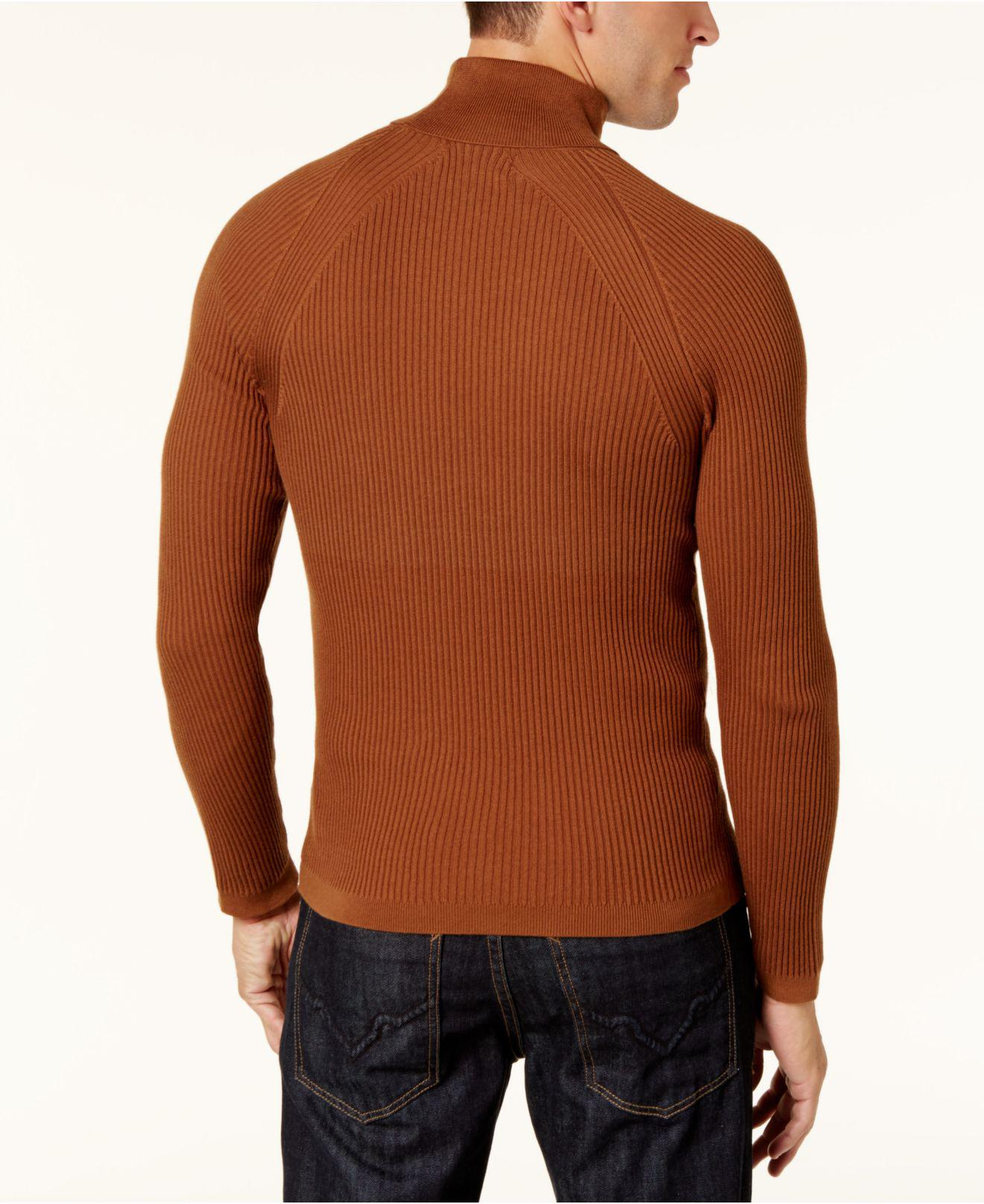 Inc international concepts Men's Ribbed Turtleneck Sweater in ...